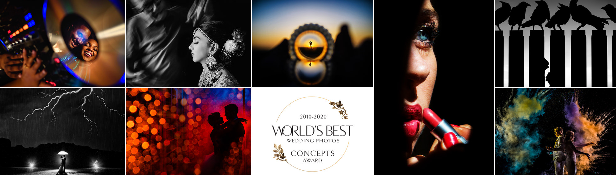 World's Best Wedding Photos Brilliant Concepts Contest