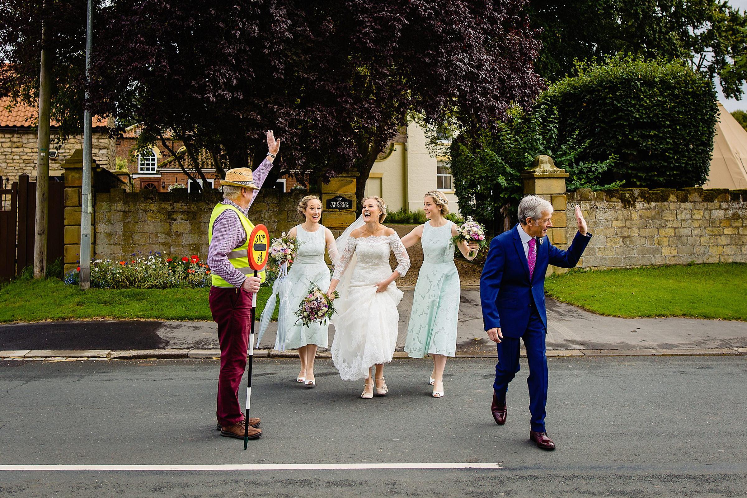 bridal-party-halts-traffic-emma-rich