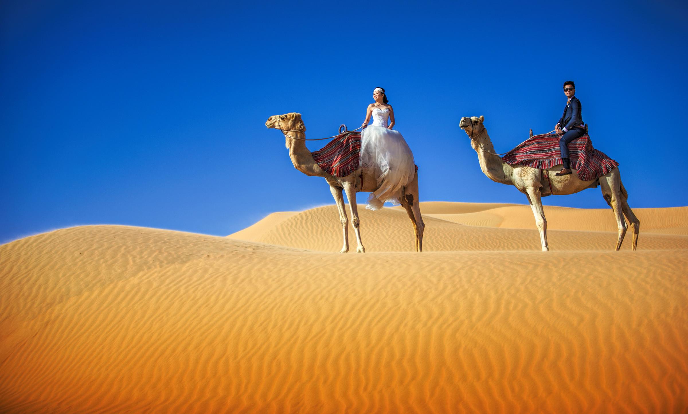 couple-on-camels-dubai-edwin-tan-photography