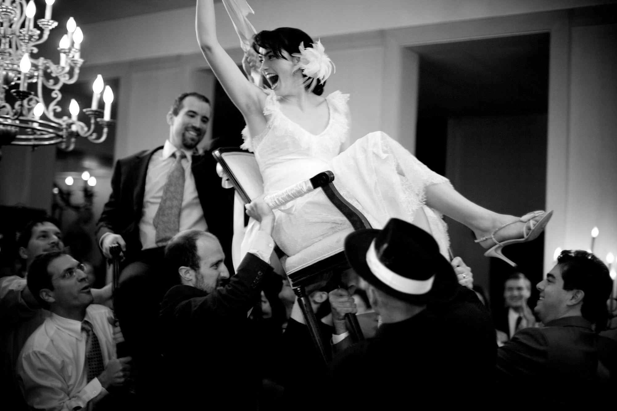 joyous-hora-dance-black-white-photography-worlds-best-wedding-photos-san-juan-island-photographers-la-vie-photo
