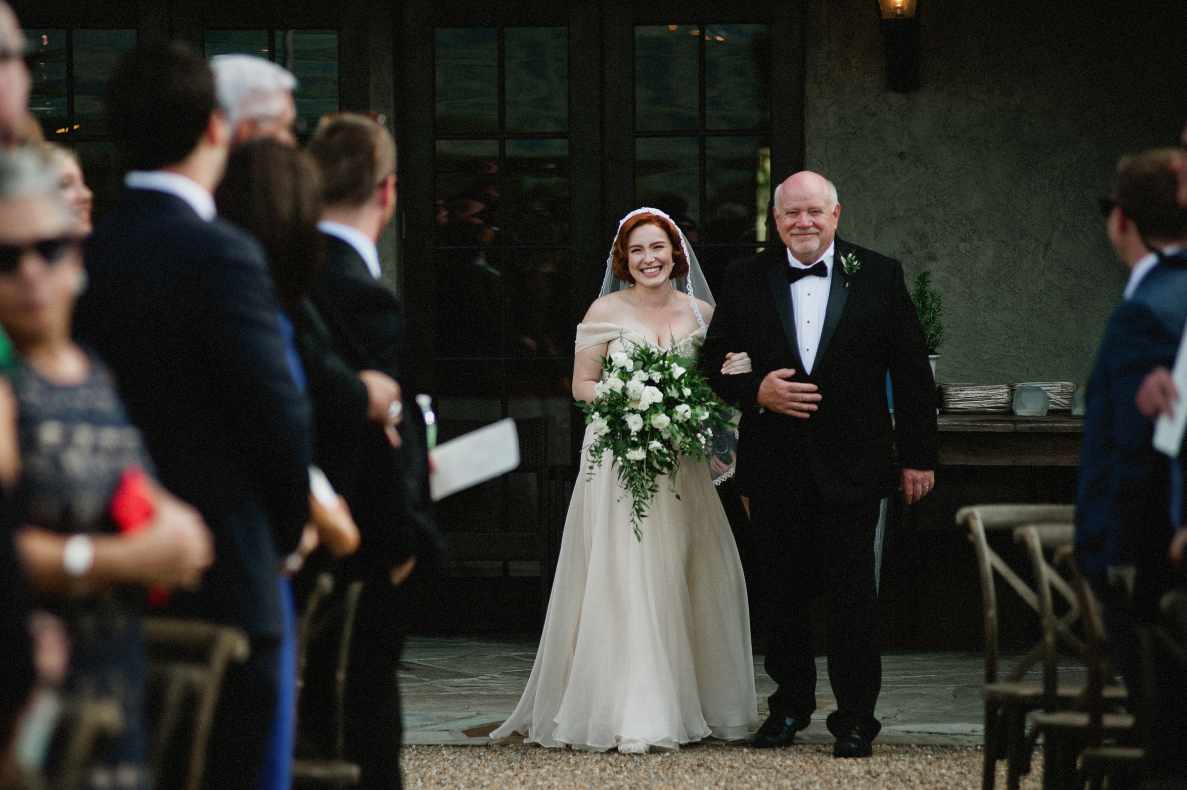 red-haired-bride-and-father-come-down-the-aisle-richard-israel-photography