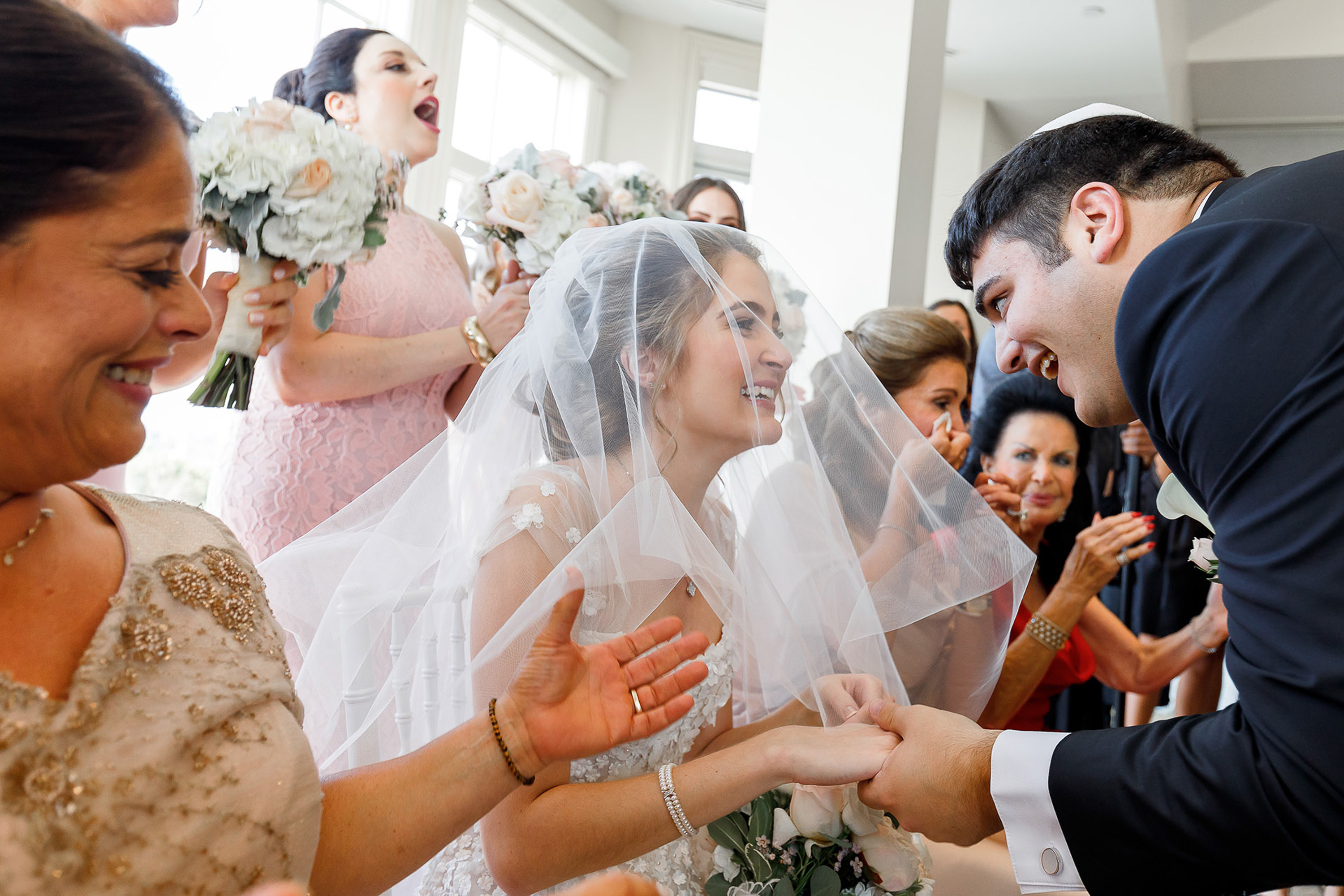 sweet-reception-moment-with-bride-and-guest-alex-paul-photography