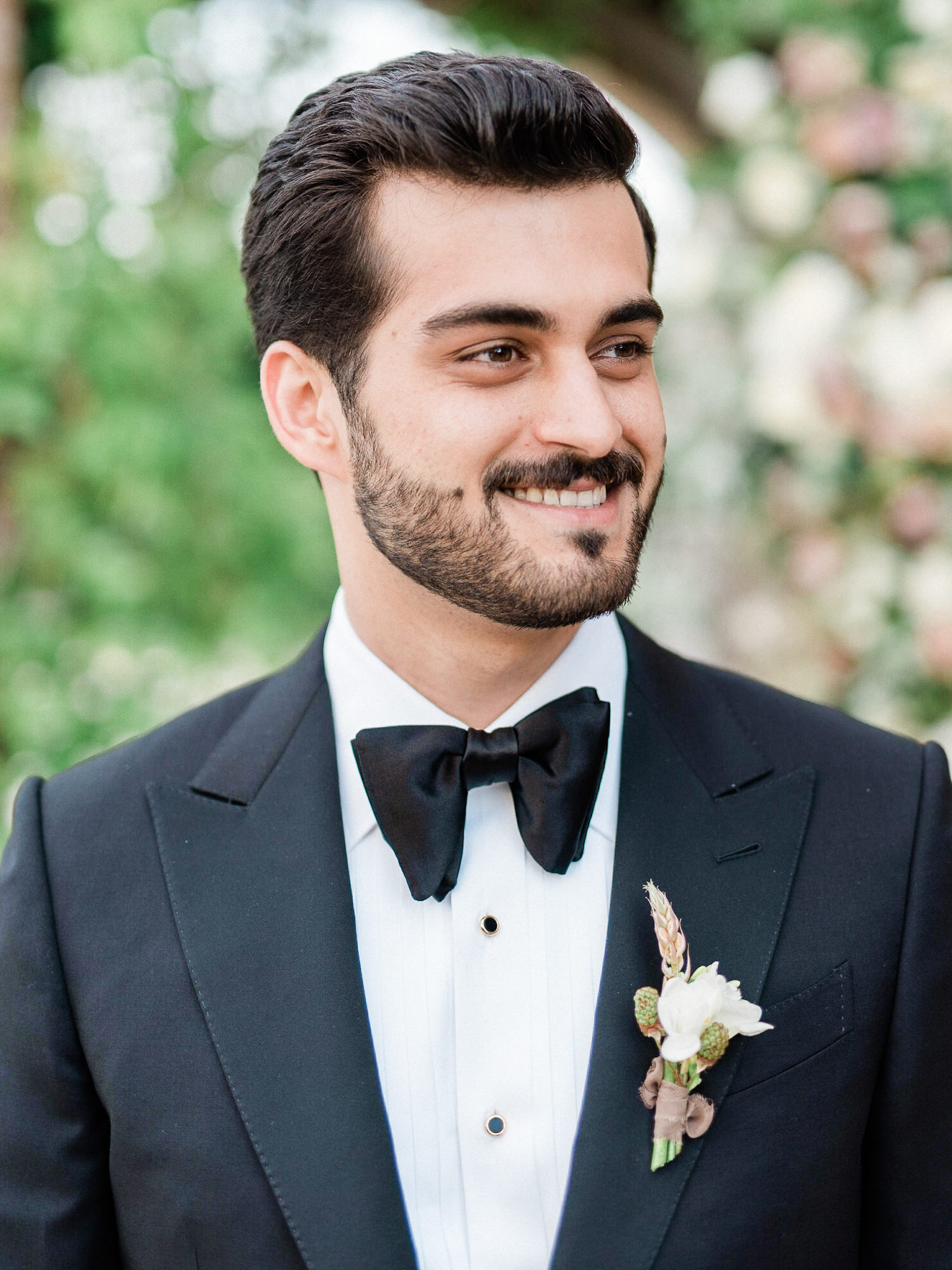 handsome-groom-black-tuxedo-bow-tie-worlds-best-wedding-photos-gianluca-adiovaso-italy-wedding-photographers