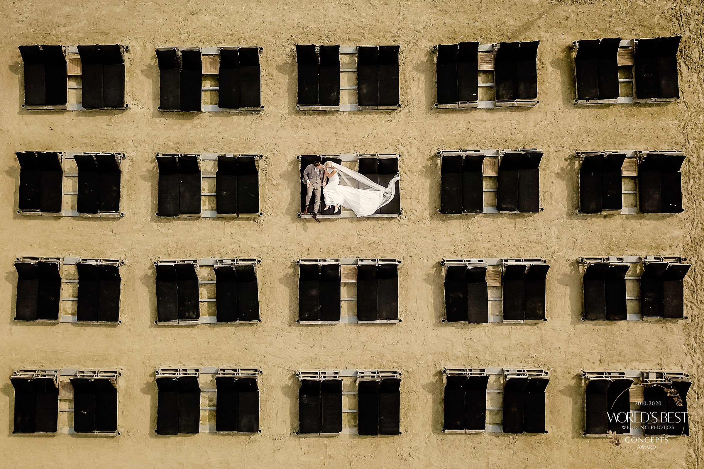 Trick of the eye drone photo by Eppel Photography - Netherlands