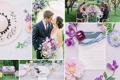 Colorful wedding style designed by Brenda Babcock, photo by Elias Kordelakos.jpeg