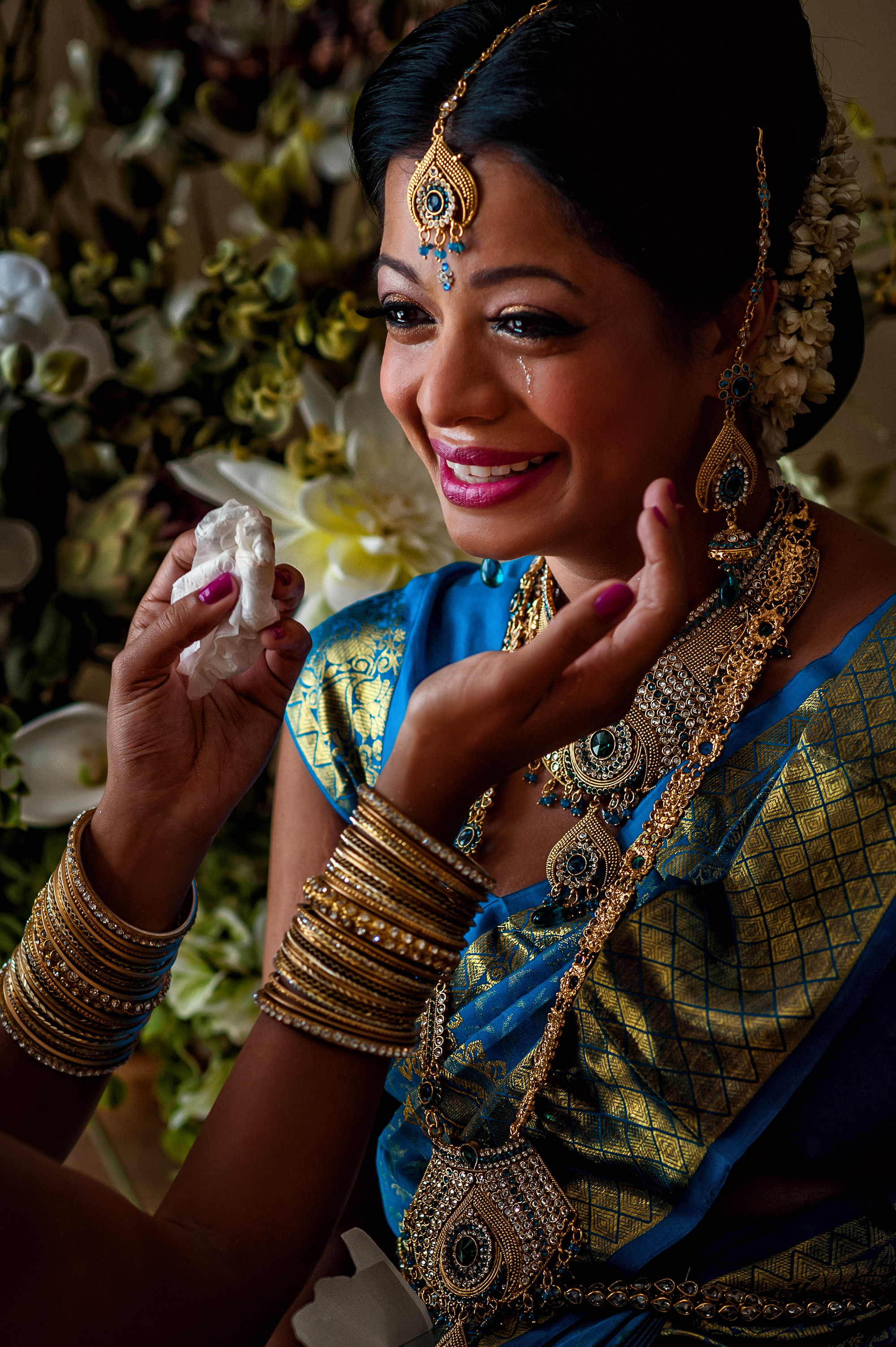 indian-bride-tearing-up-with-hands-framing-worlds-best-wedding-photos-davina-plus-daniel-canada-wedding