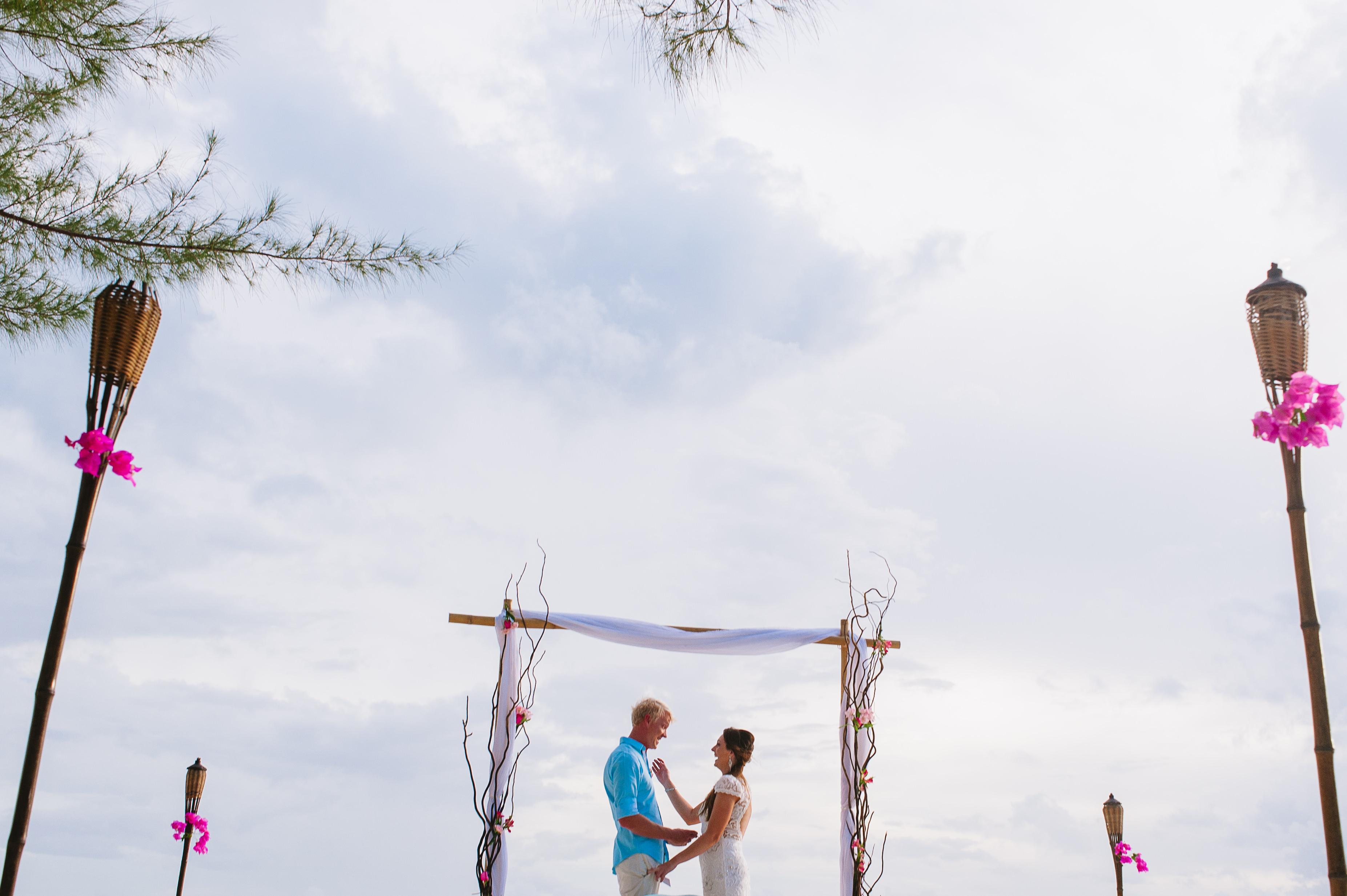 "Saying ""I do"" at Isla Mujeres - photo by Citlali rico"