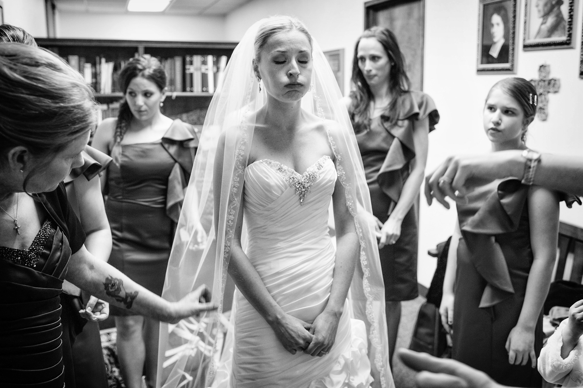 bride-blowing-off-her-nervous-energy-before-wedding-joe-appel-photography-pa