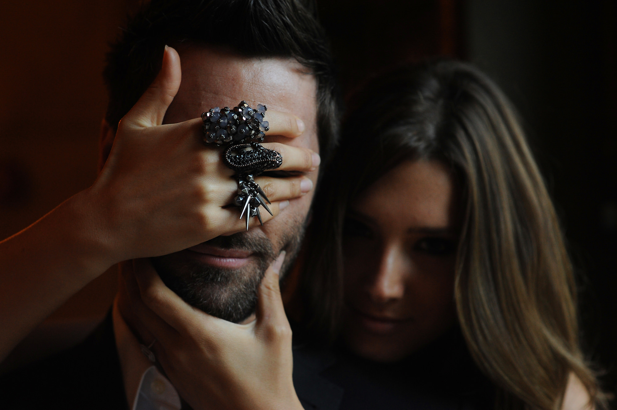 bride-covering-groom-eyes-black-jewelled-rings-worlds-best-wedding-photos-daniel-aguilar-houston-wedding-photographers