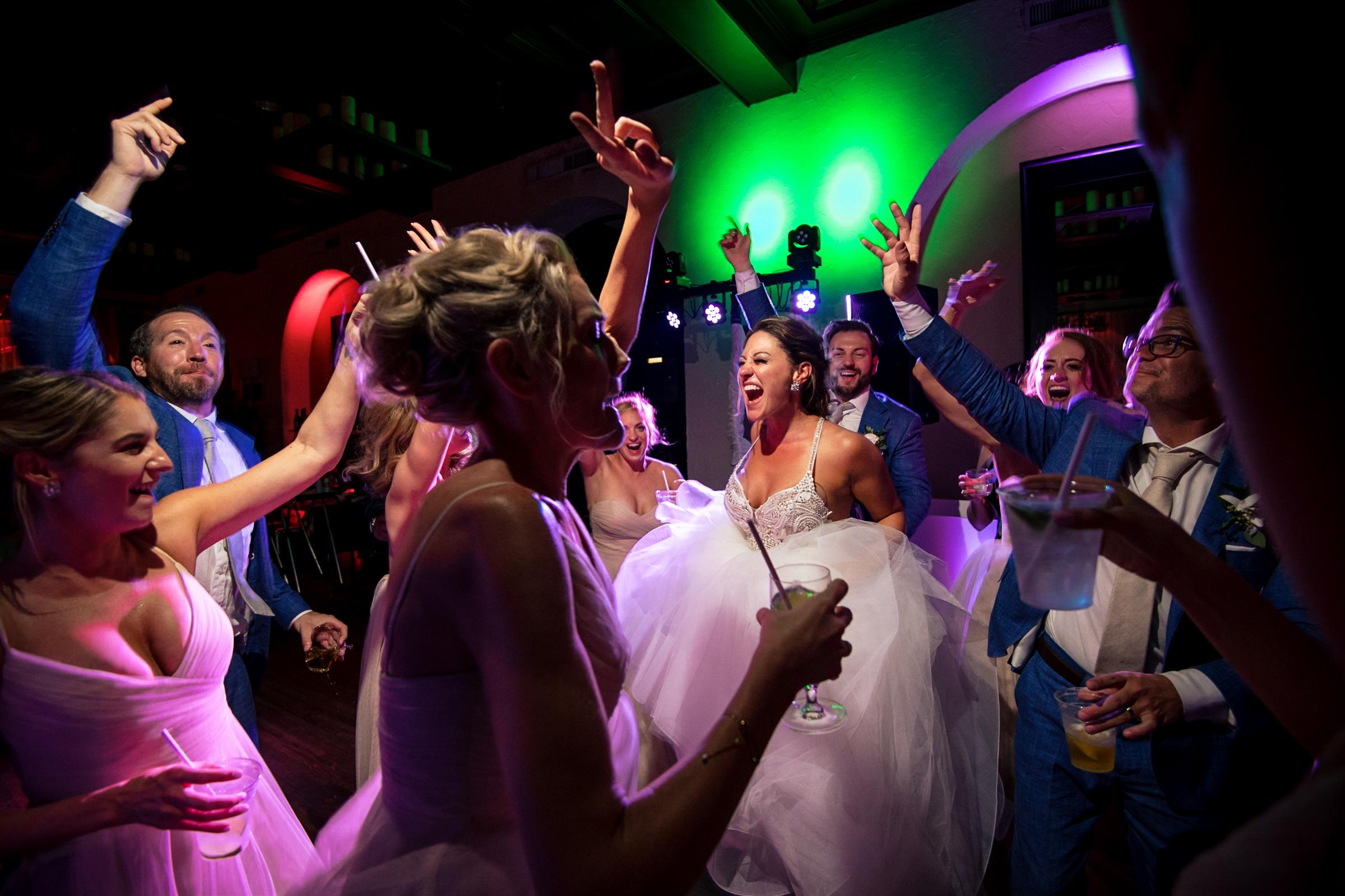 Wedding reception dance party - Michael Freas - North Carolina