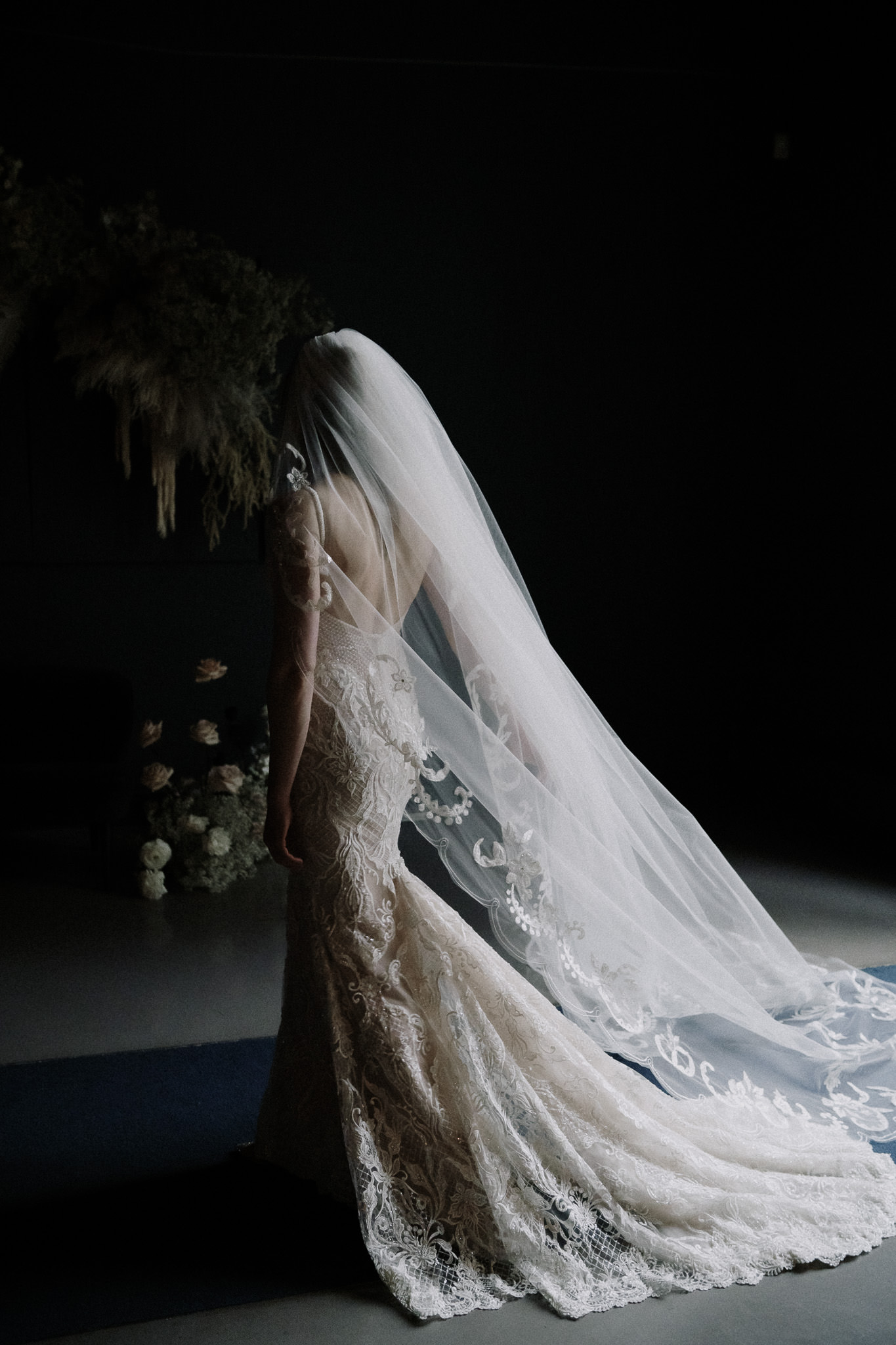 ethereal-portrait-of-bride-in-lace-wedding-gown-by-naomi-van-der-kraan