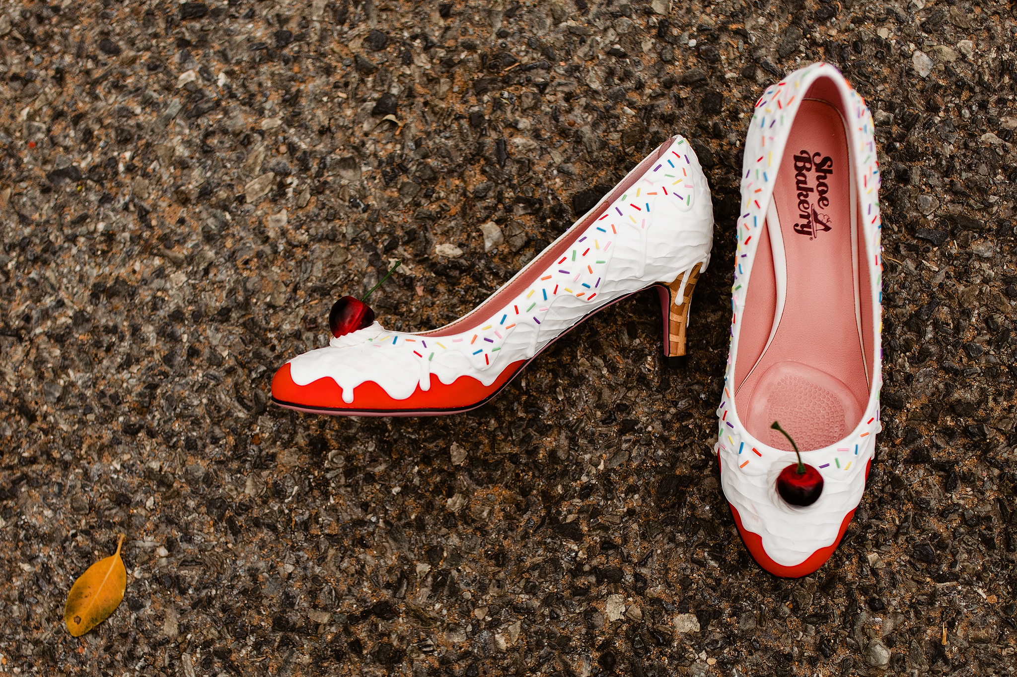 ice cream sundae shoes from the Shoe Bakery photographed by Ruan Redelinghuys - South Africa