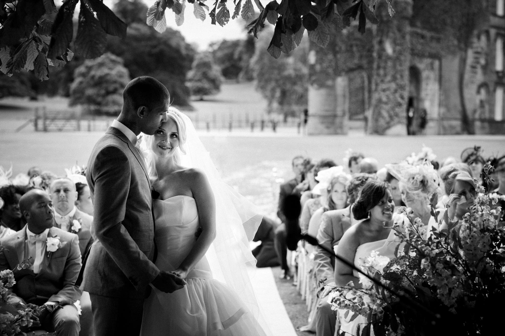 Swinton Park Hotel - Celtic castle ceremony - photo by Jeff Ascough