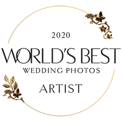 World's Best Wedding Photos Member Artist Badge