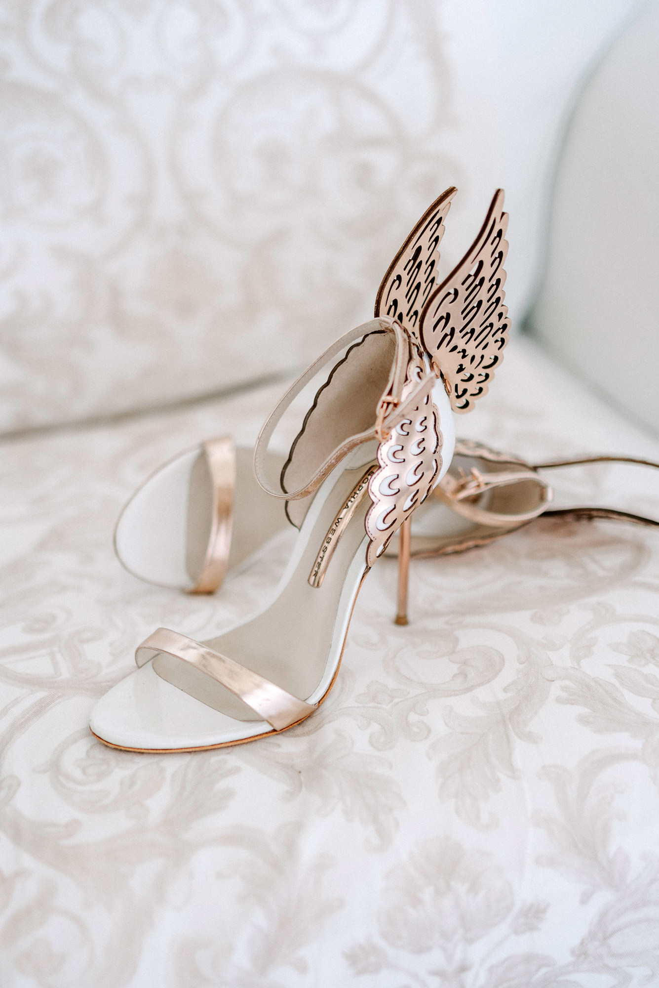 Sophia Webster angel wing sandals - Gianluca Adovasio Photography