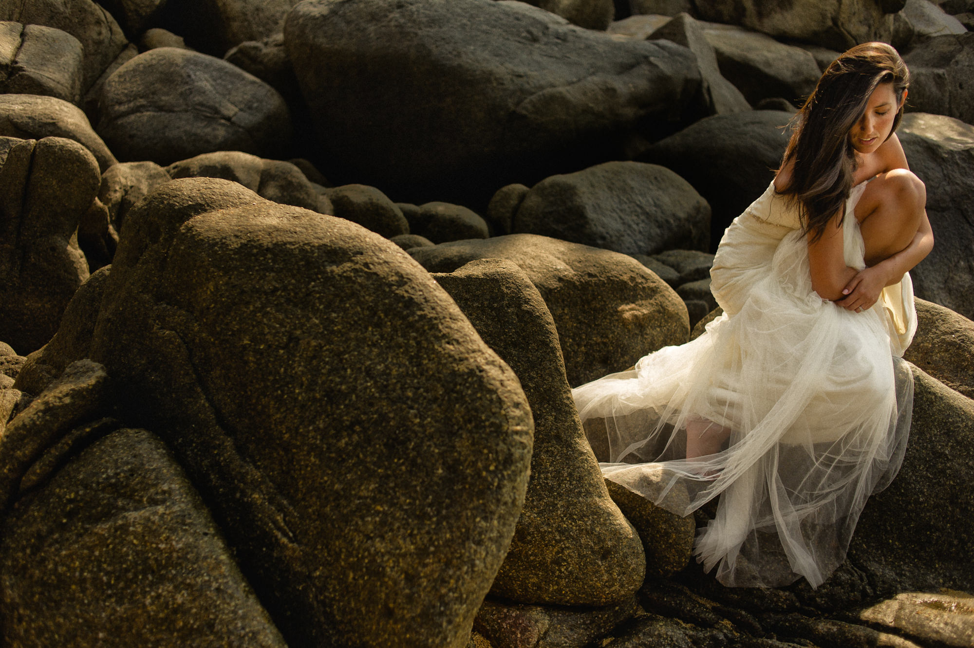 Lovely bridal portrait by Fer Juaristi