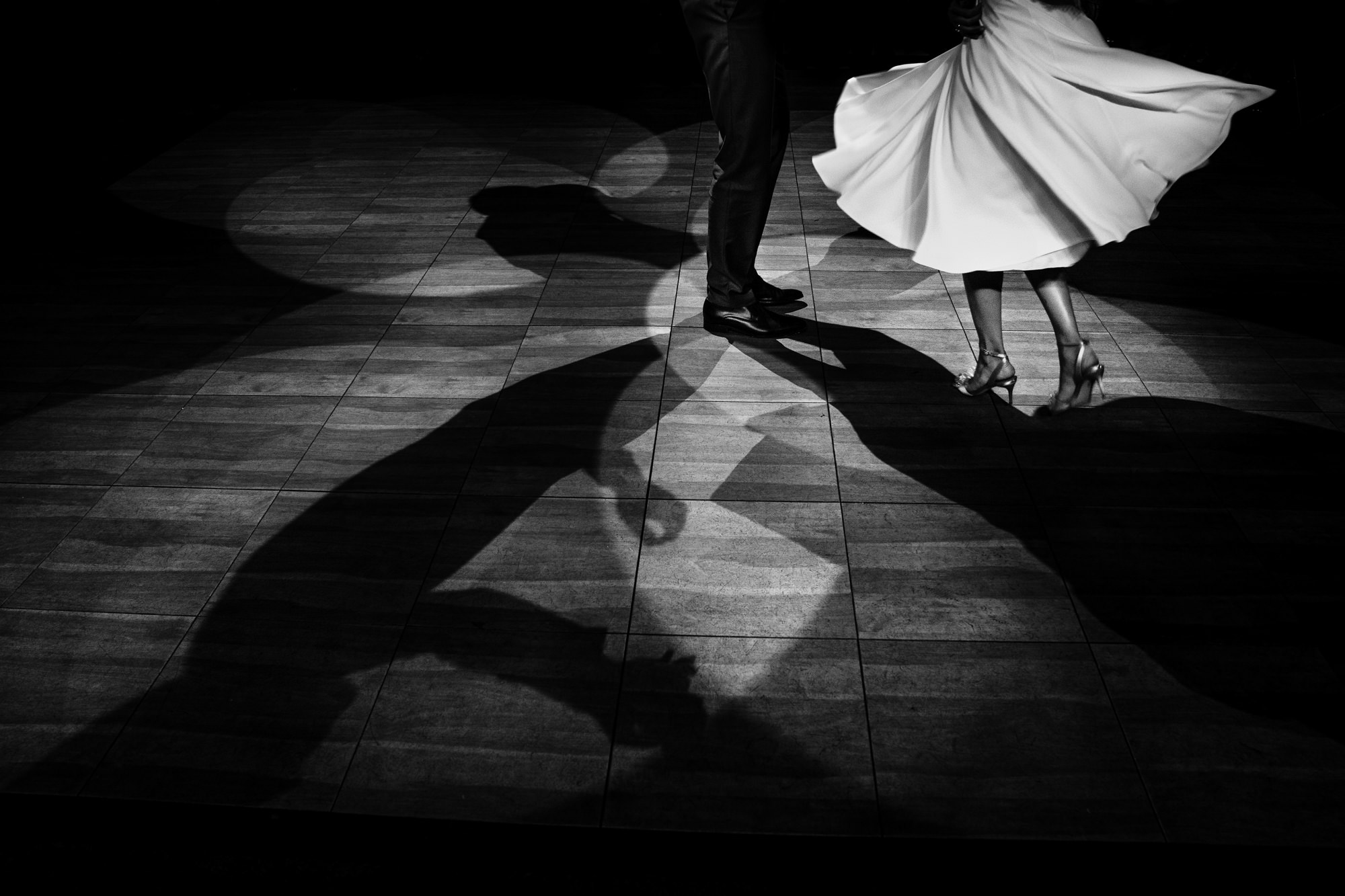 Dress swirling during fist dance photo by Yves Schepers
