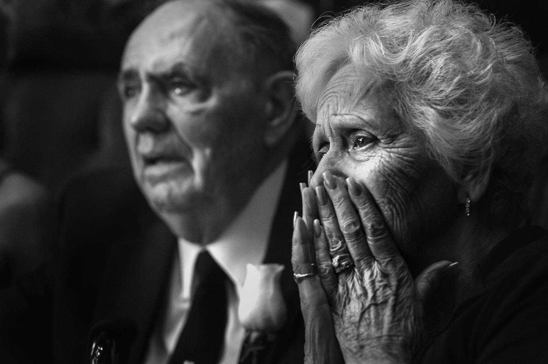 Grandma reacting to toast, by Calloway Gable