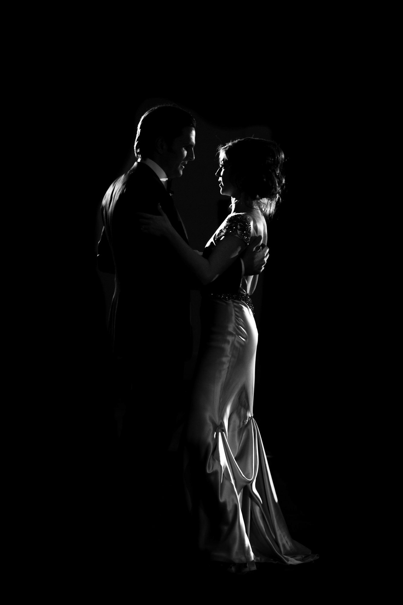 Low light photo of first dance  - La Vie Photography