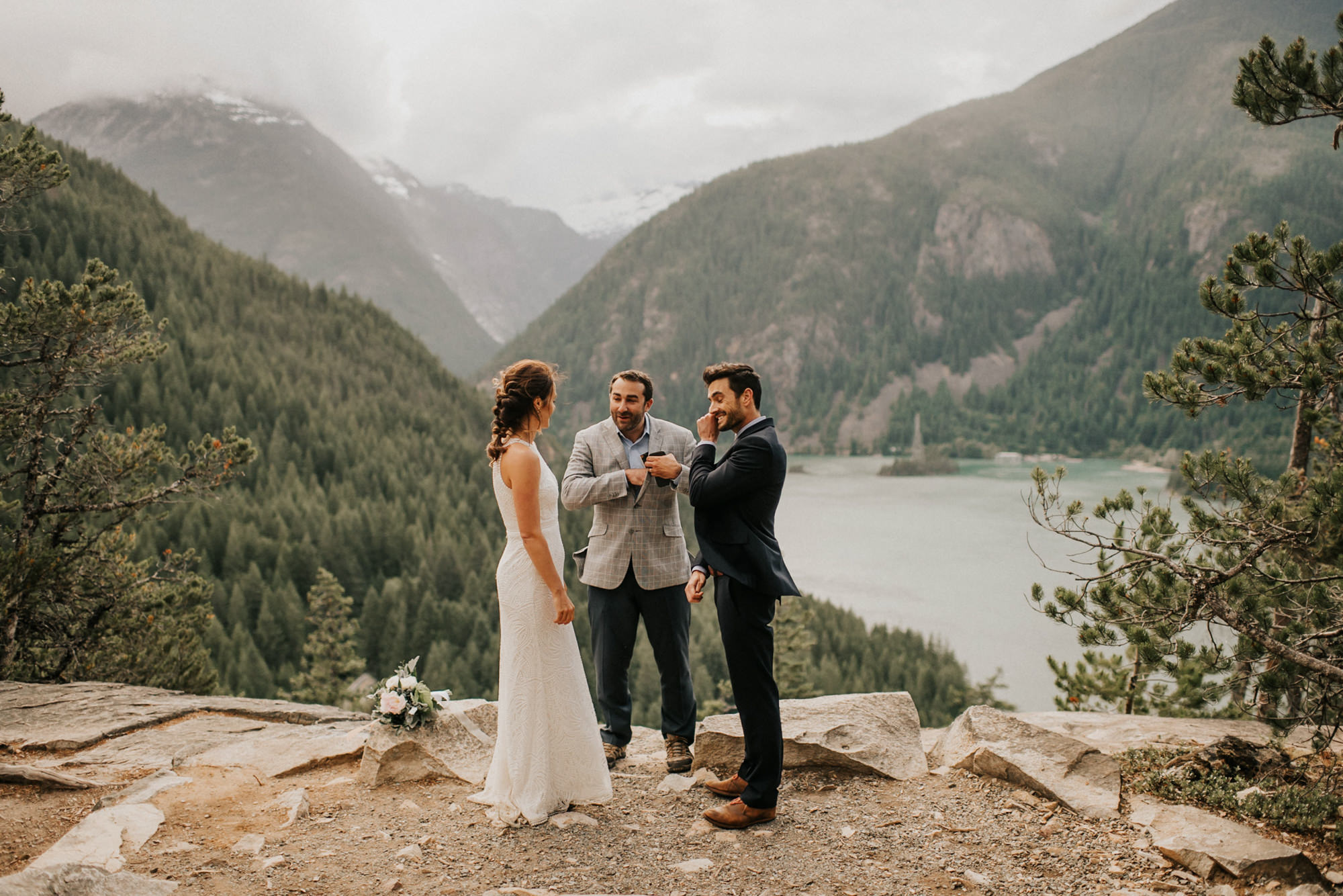 North Cascades elopement - Nick + Danee
