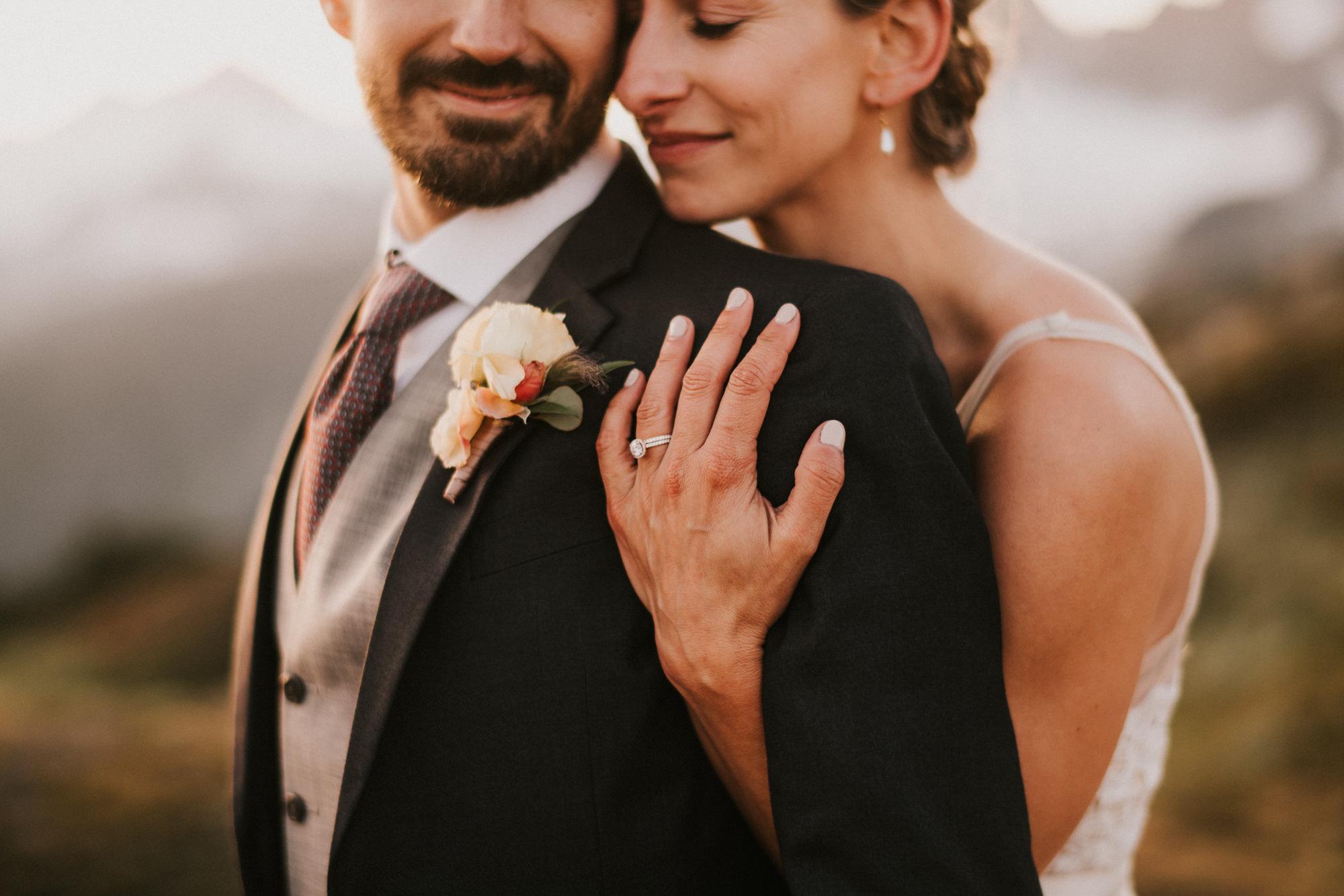 Rustic mountain wedding - Nick + Danee