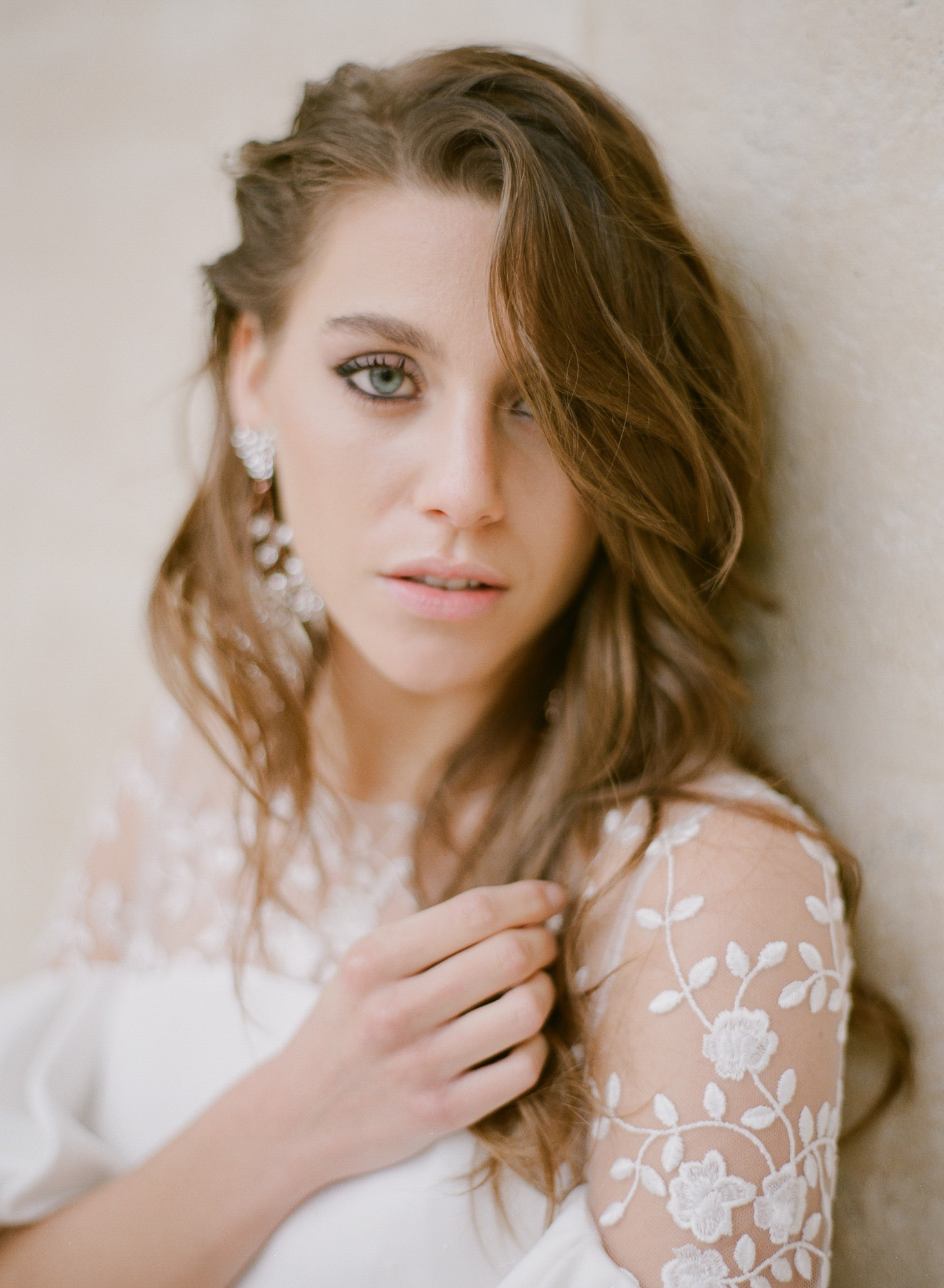 Portrait of bride with natual make-up by Gianluca Adovasio Photography