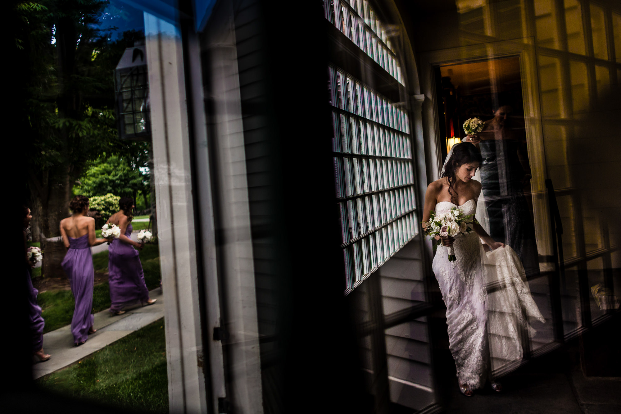 bride on her way to ceremony -  photo by Jag Studios