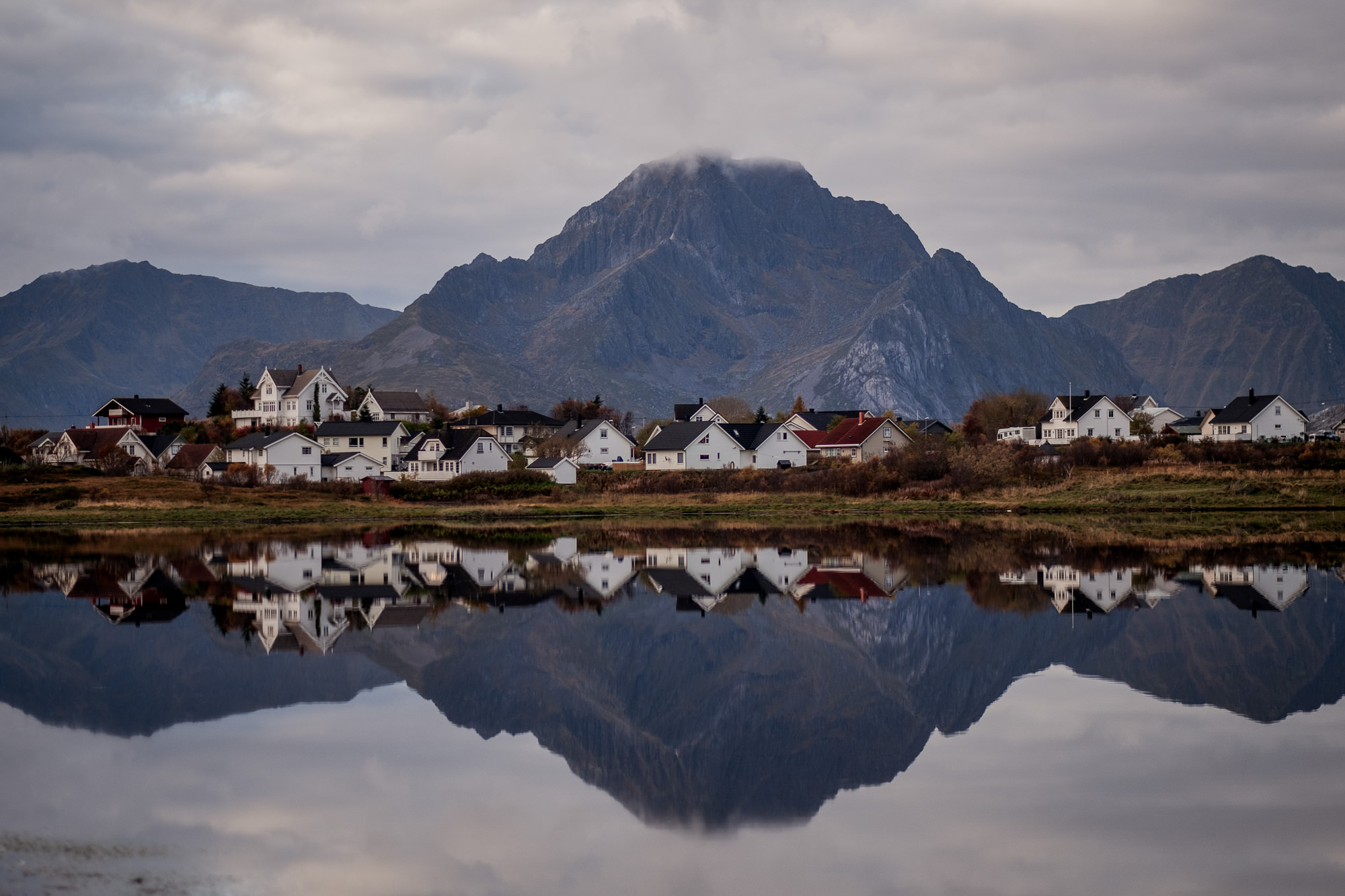 Stunning landscape charming town photo by Nordica Photography