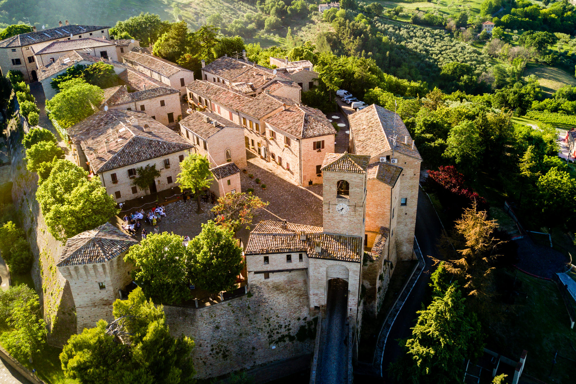Walled Tuscan village photo by Eppel Photography Netherlands