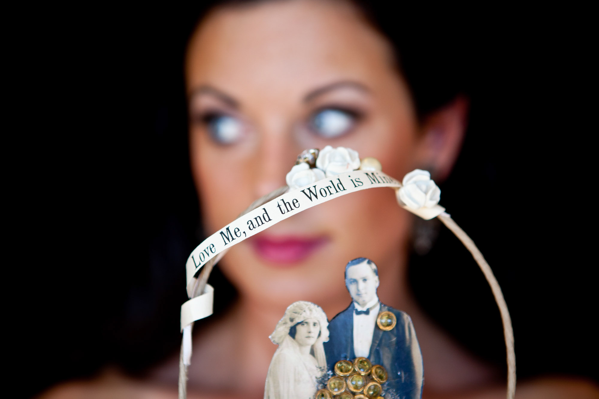 Vintage cake topper - La Vie Photography