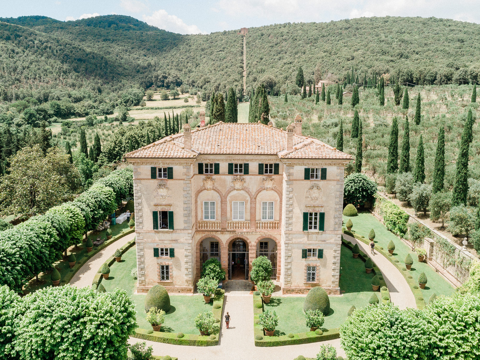 Villa Cetinale Italian chateau - photo by Gianluca Adovasio Photography - Italy
