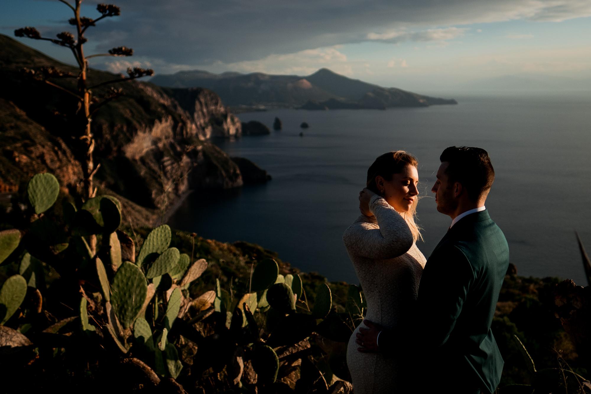 Couple portrait Wanaka New Zealand elopement photo by Nordica Photography