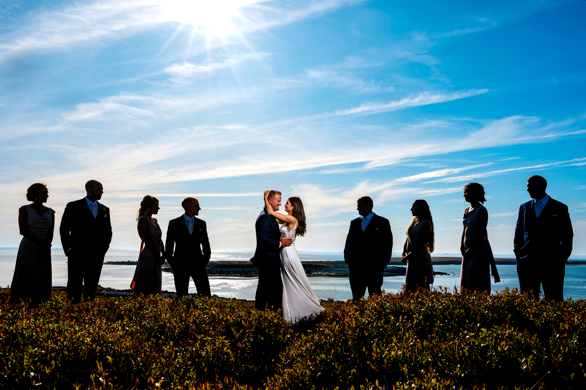 Waterfront ceremony - photo by Cooked Photography