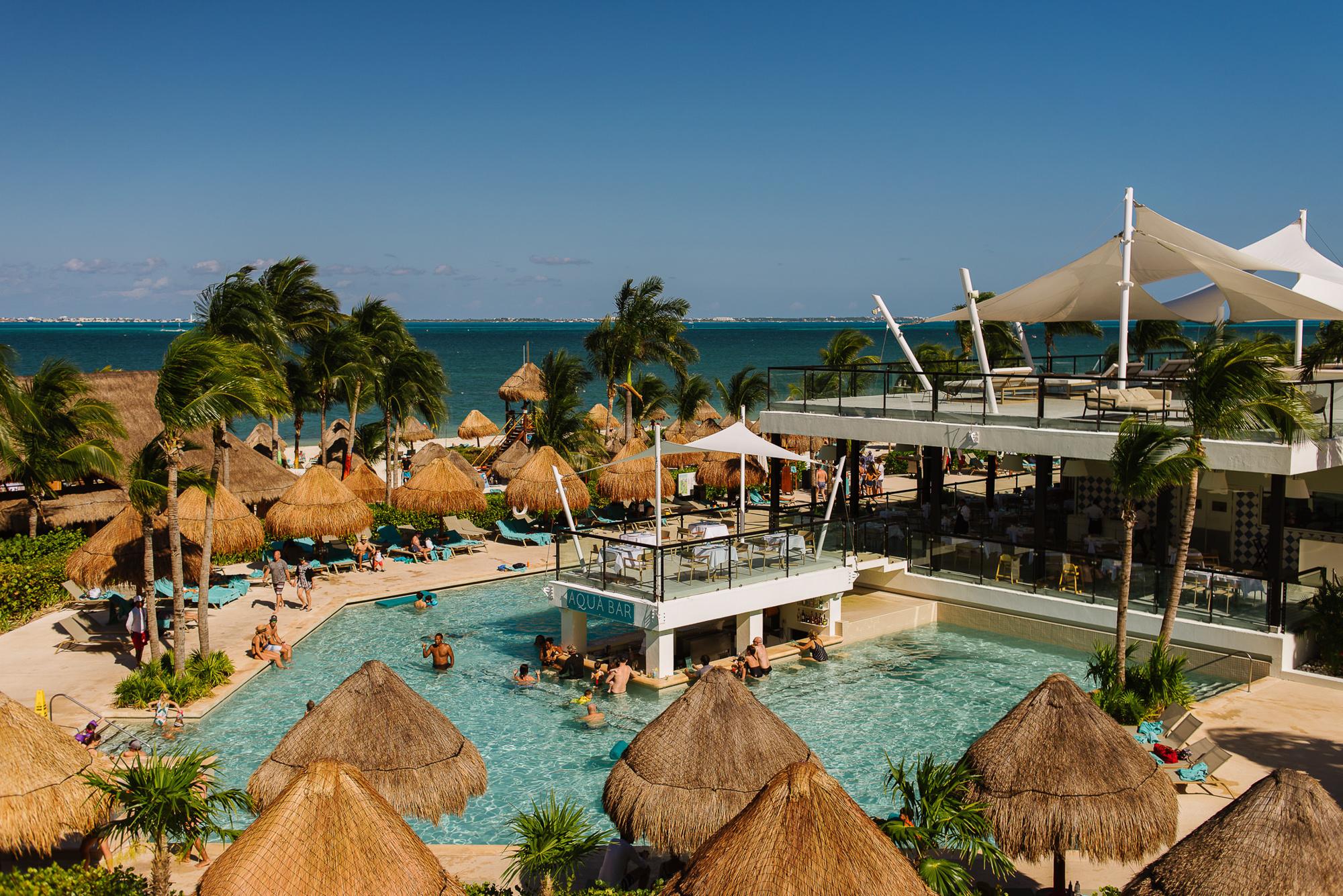 Resort wedding venue in Mexico, by Citlalli Rico