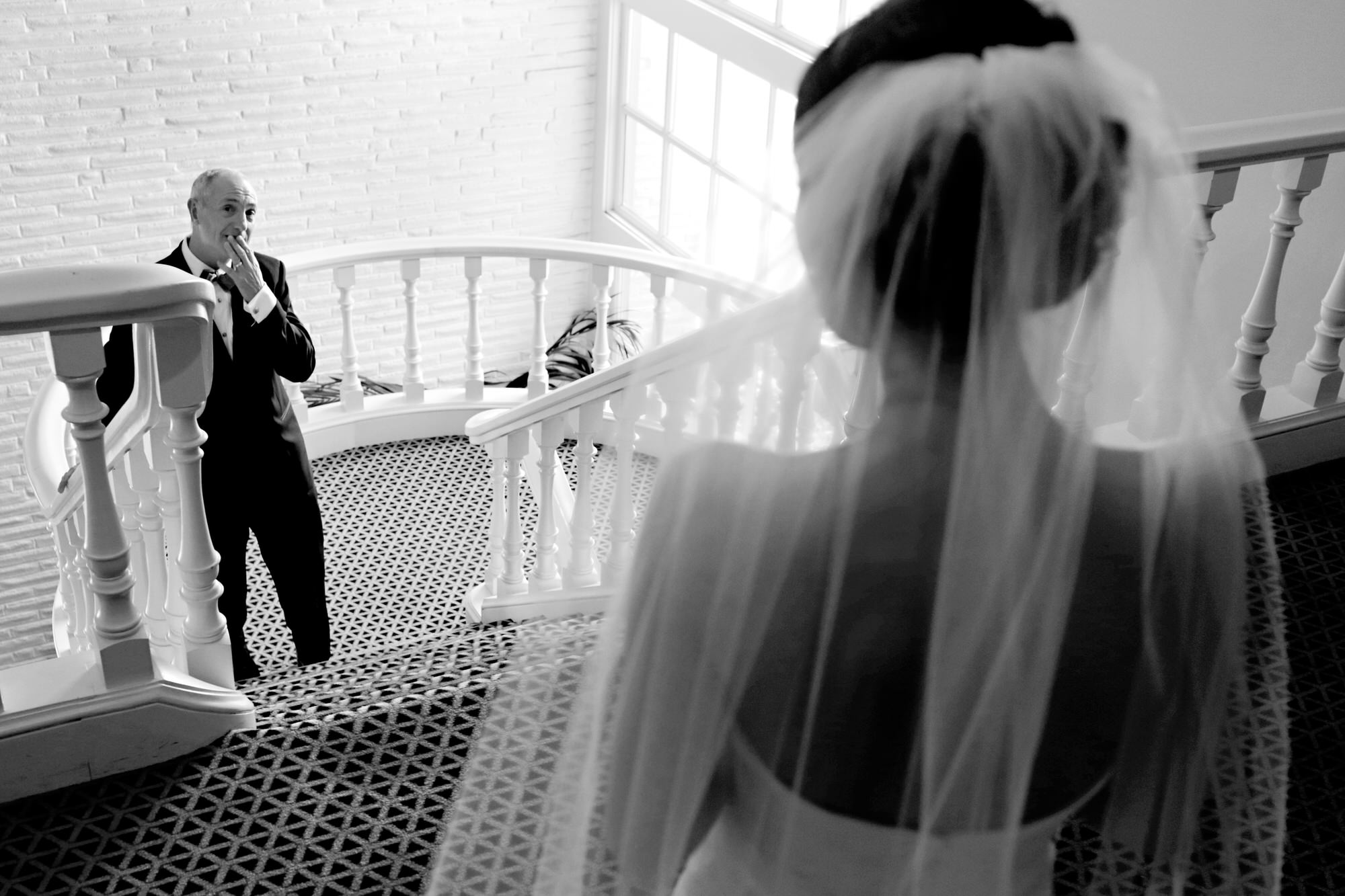 Father seeing his daughter in her dress - Photo by Tyler Wirken - Missouri