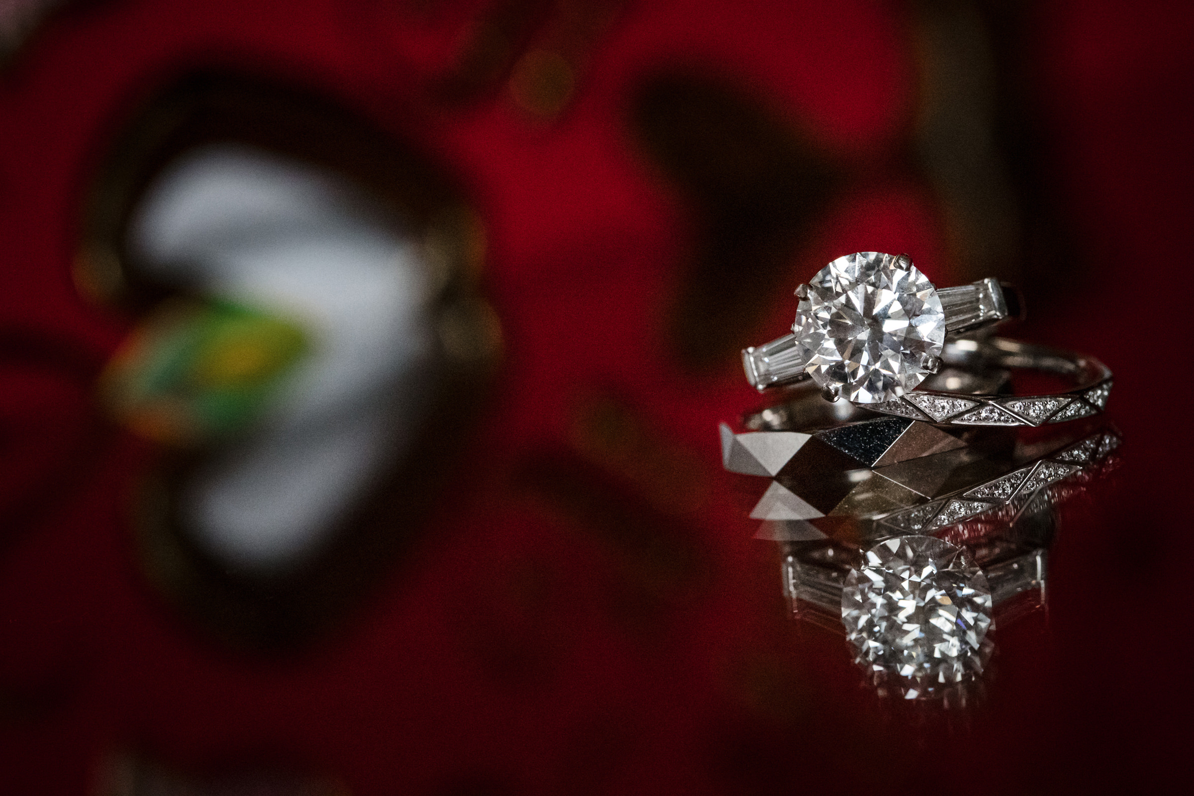 Diamond RIng Detail - Photo by Susan Stripling Photography