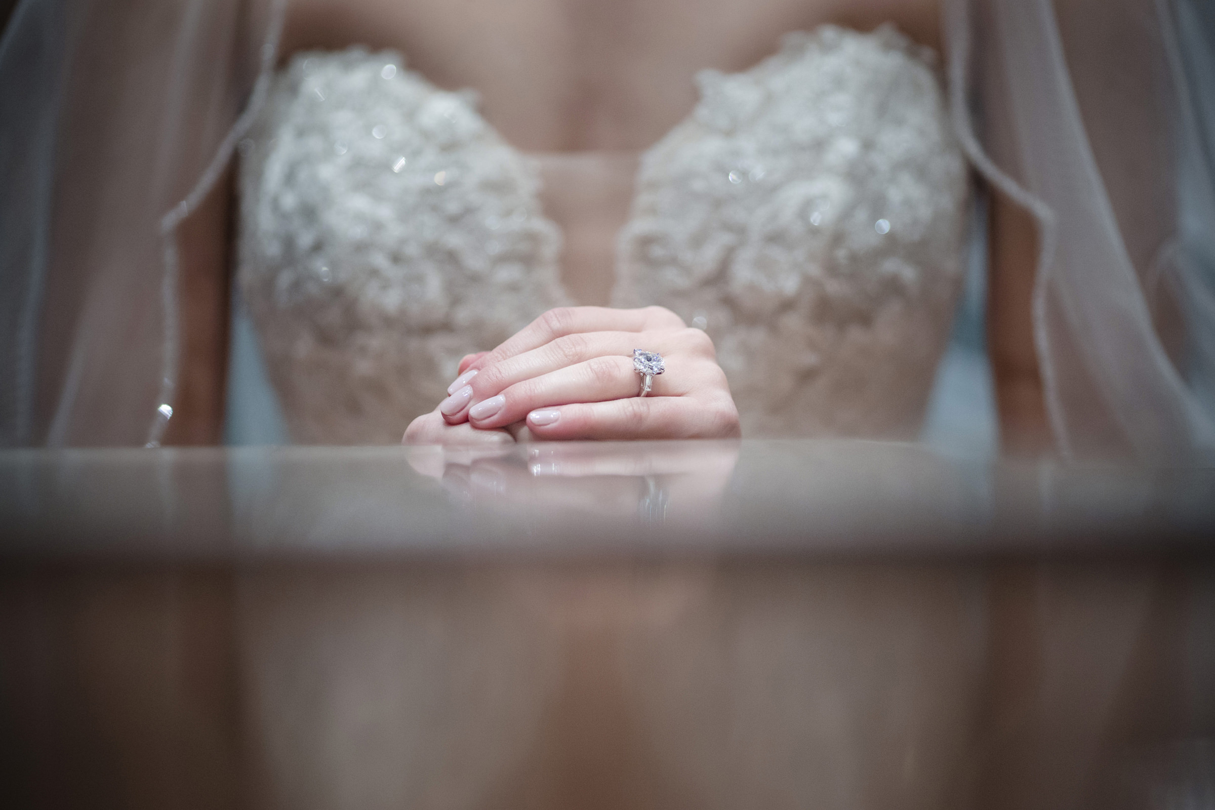 Engagement ring detail - Photo by Susan Stripling Photography