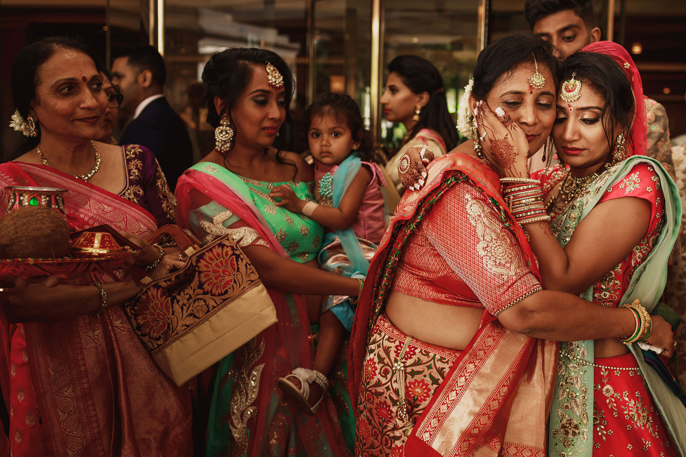 Mother and bride sharing a moment - photo by F5 Photography