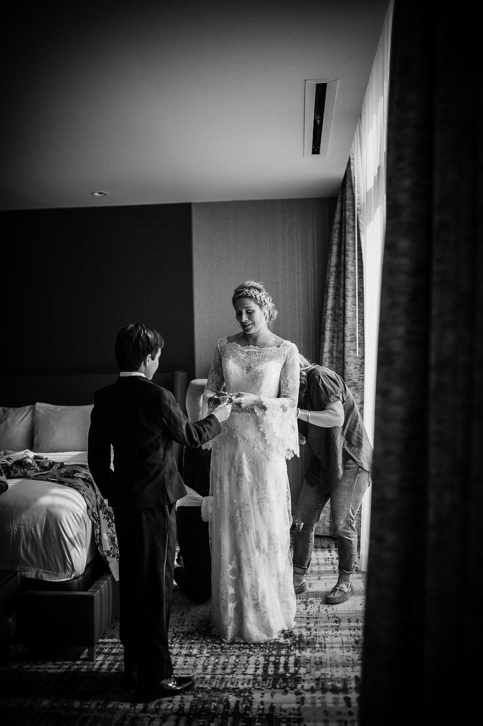 Bride and ringbearer - photo by Richard Israel Photography