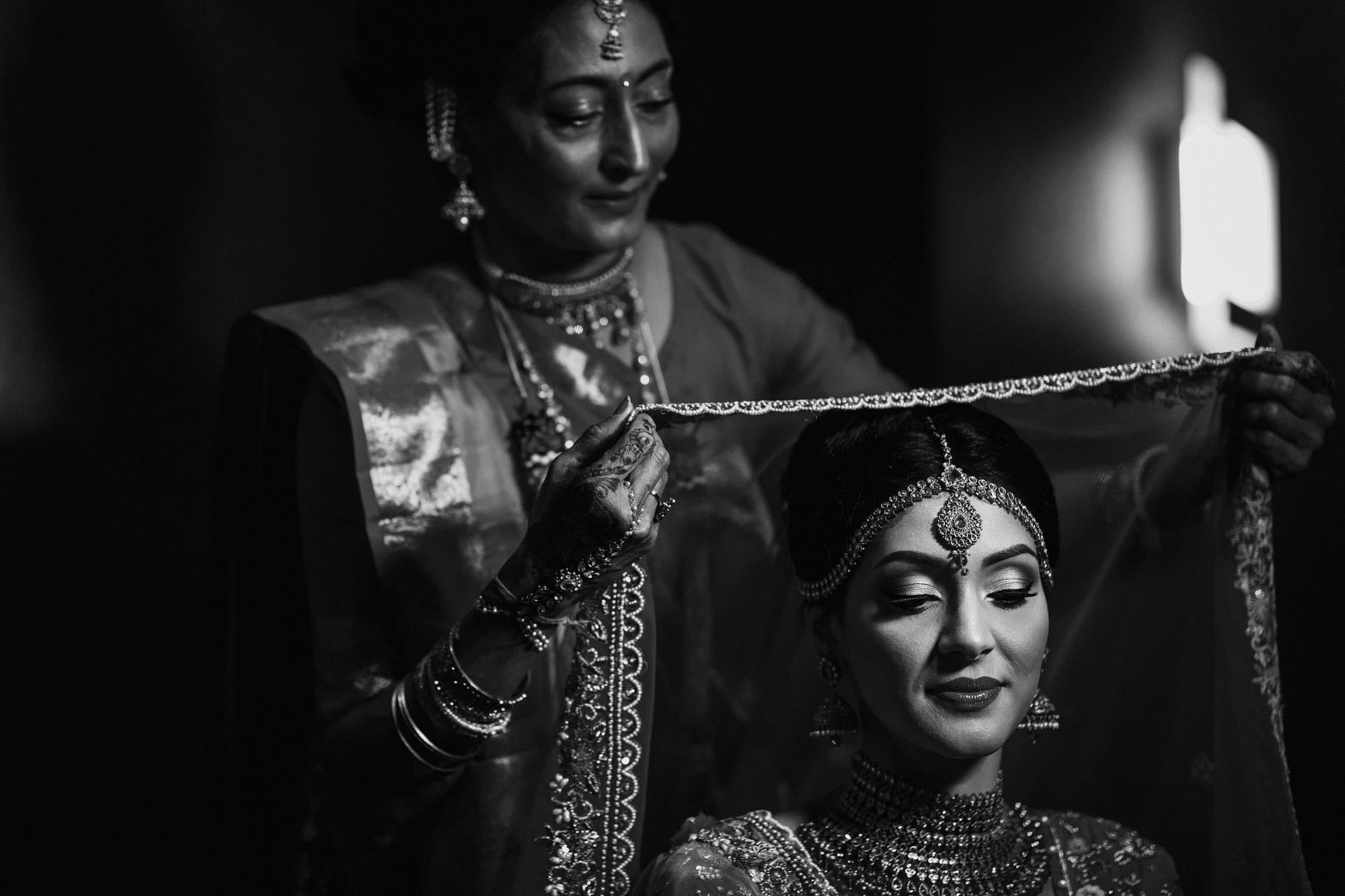 Indian bride and mom - photo by F5 Photography
