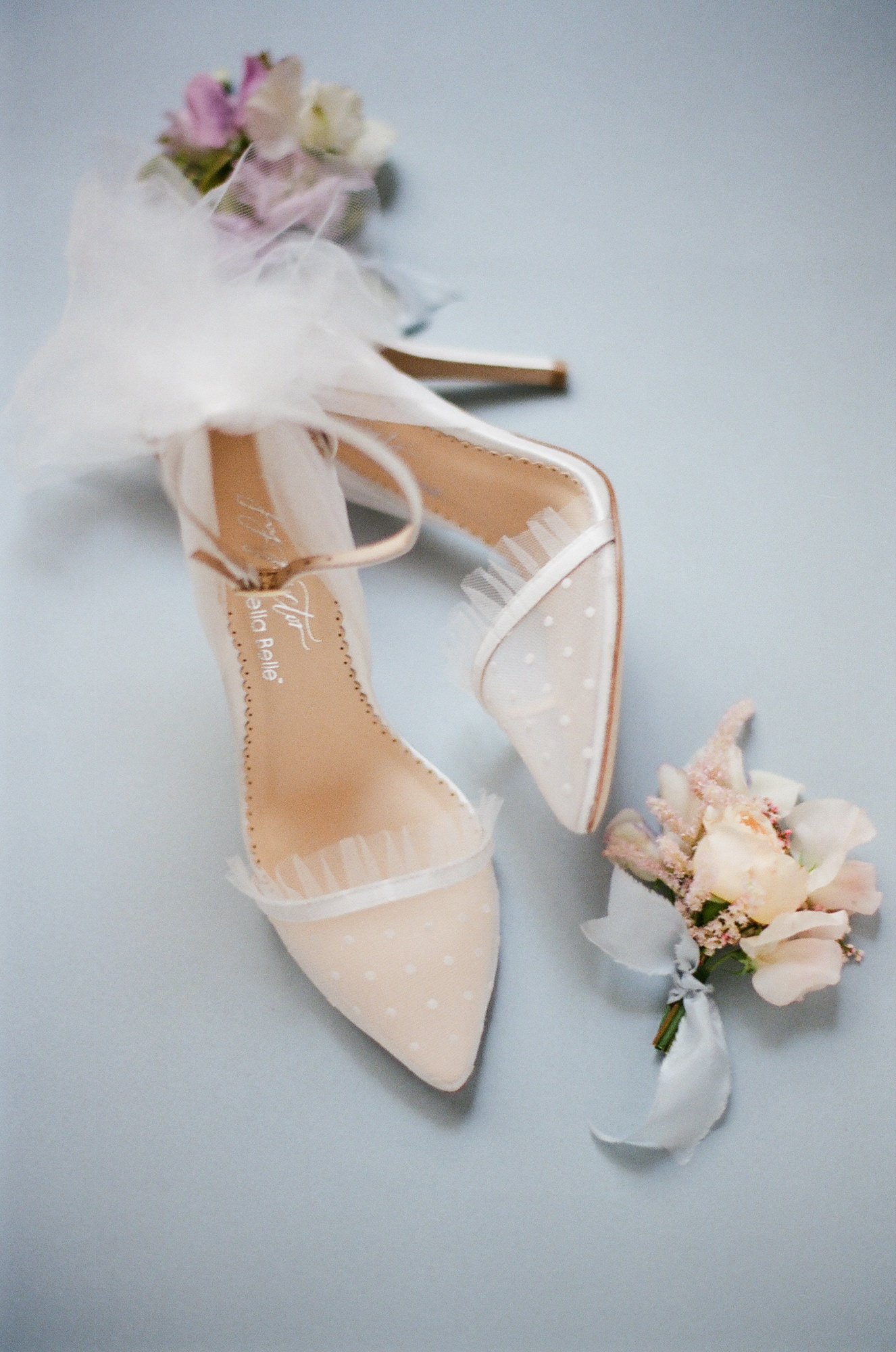 Joy Proctor tulle shoes - photo by Greg Finck