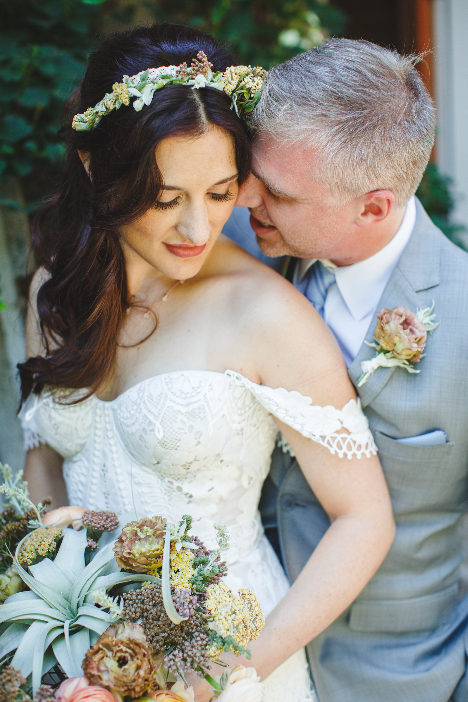 Intimate couple portrait - photo by Satya Curcio Photography