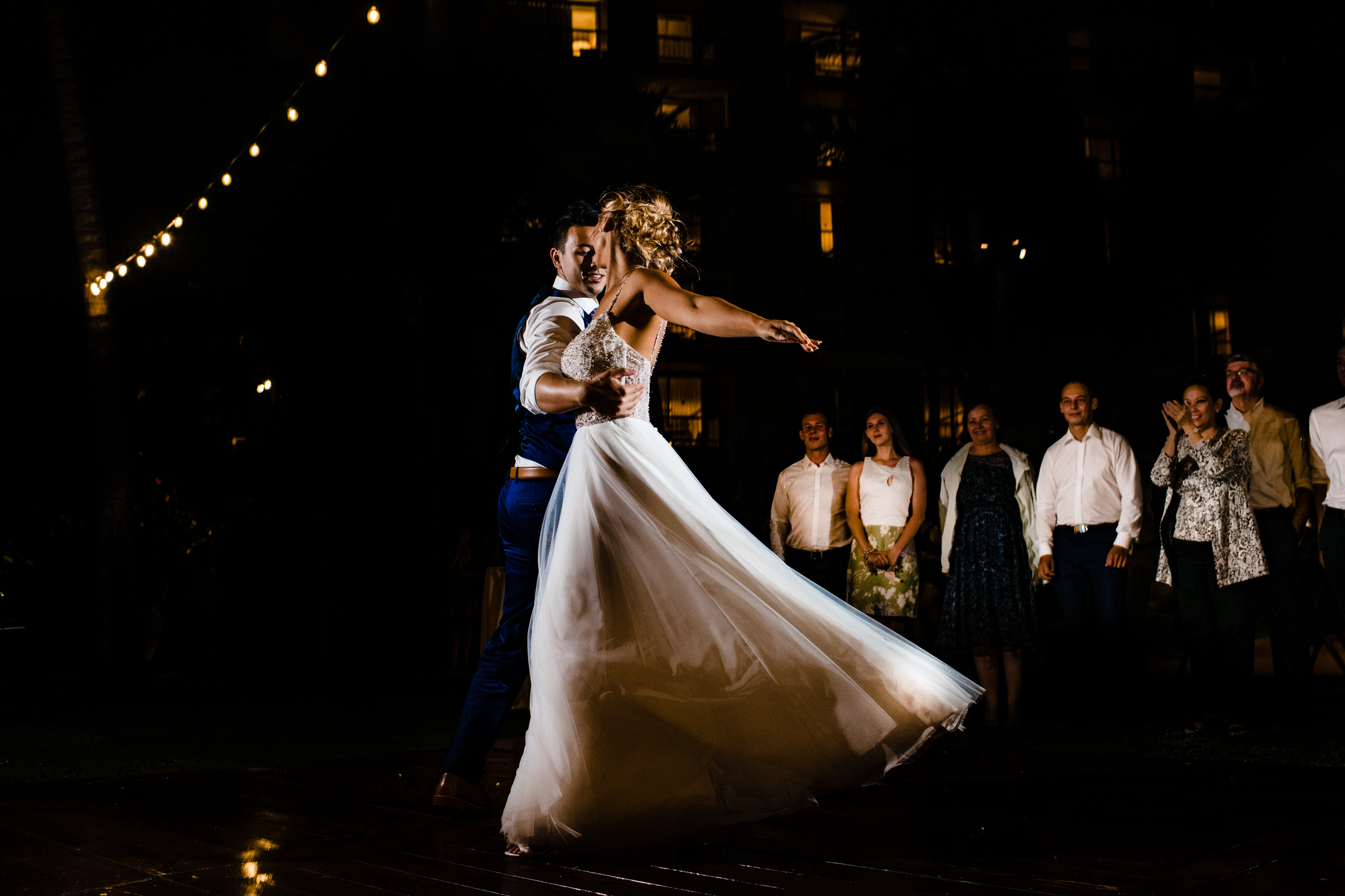 Dramatic first dance - photo by Angela Nelson Photography