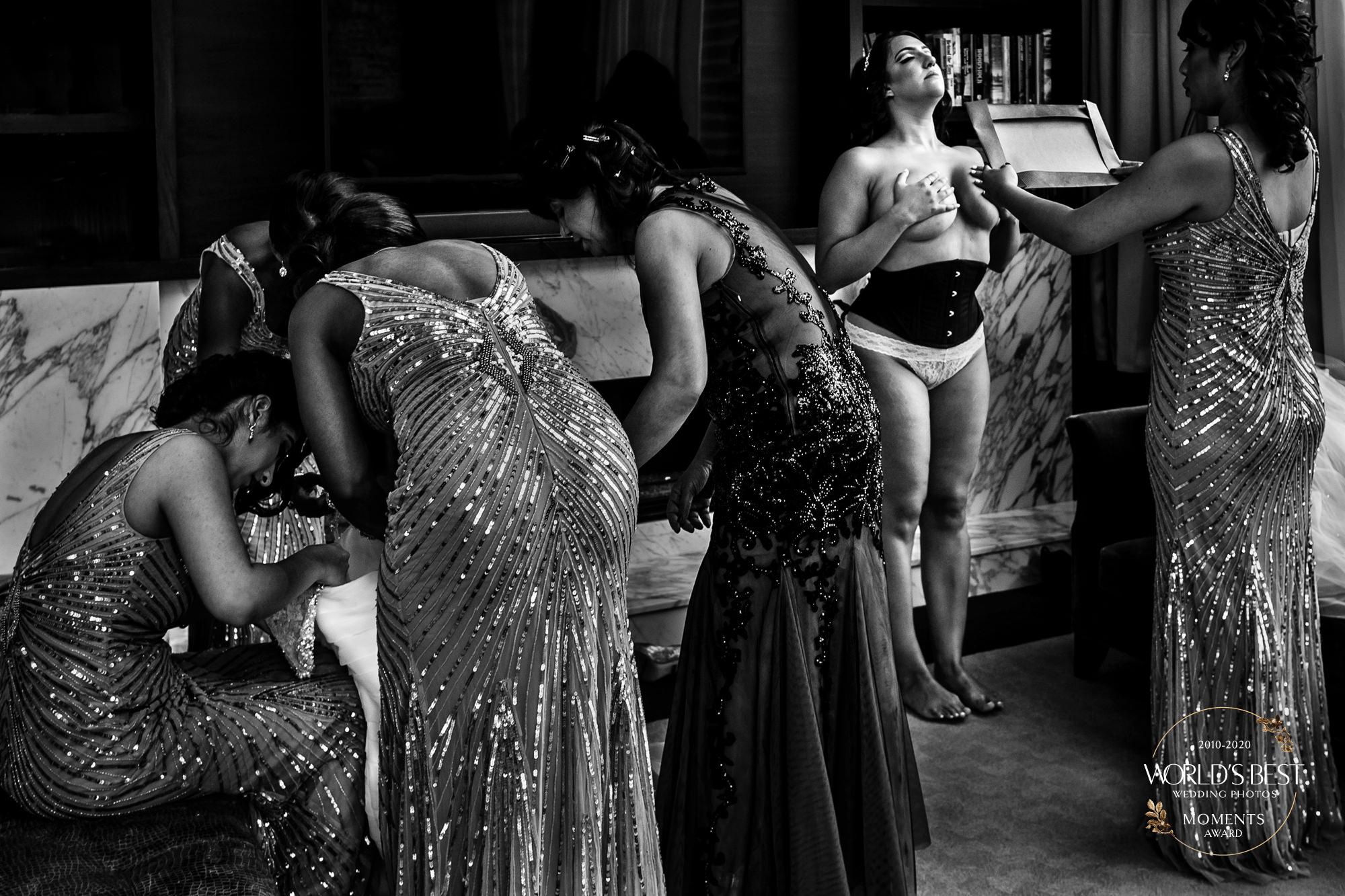50 Best Documentary Wedding Photos of the Decade - photo by JAGstudios