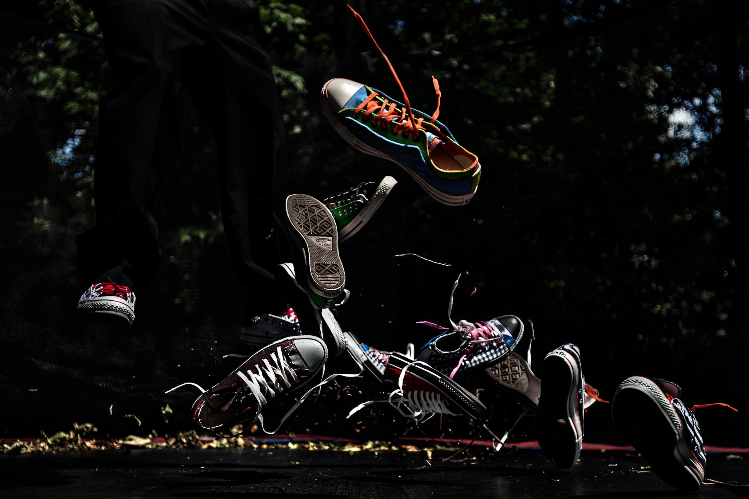Airborne sneakers - photo by JAGstudios