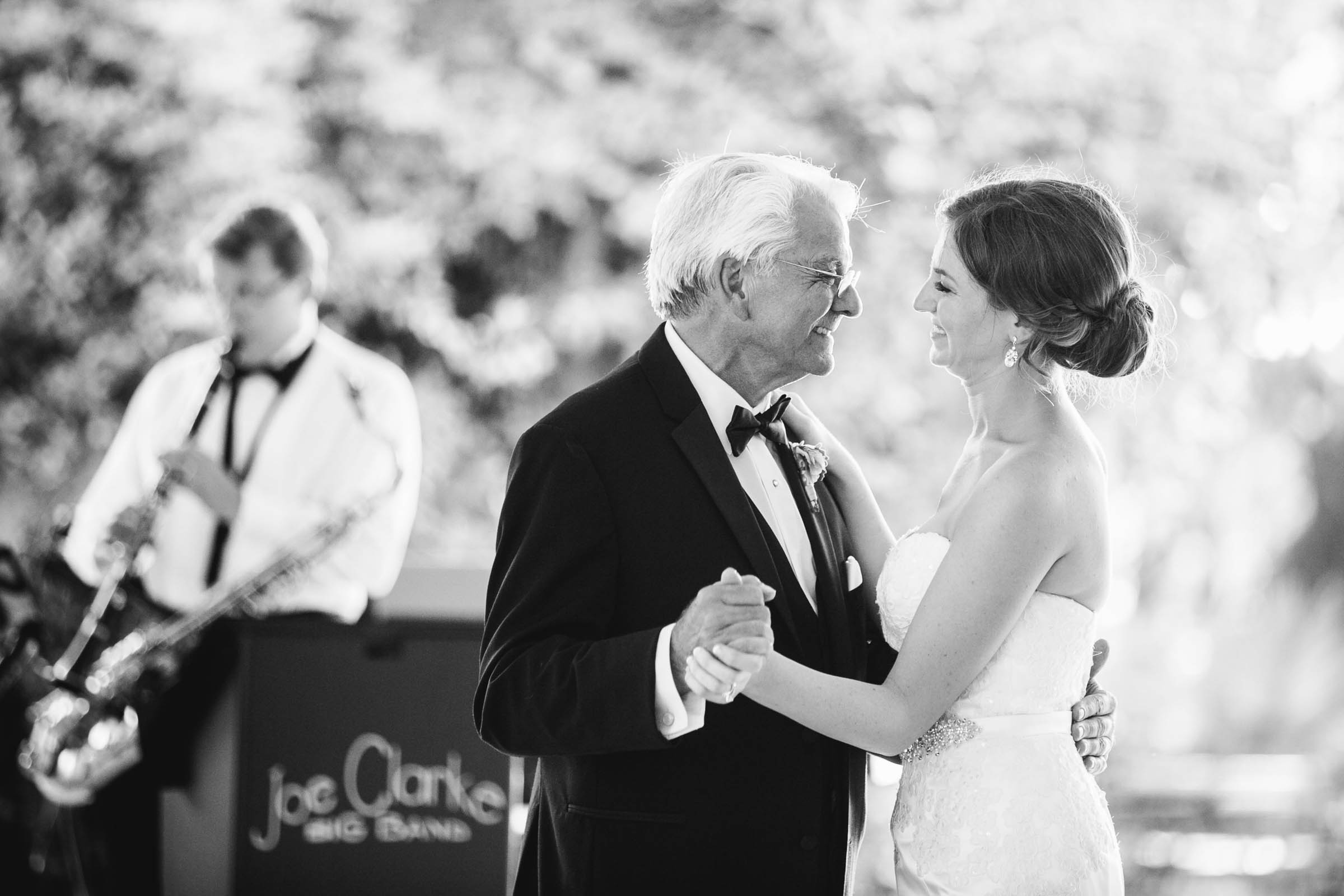 Bride and father dance - photo by Dana Cubbage Weddings