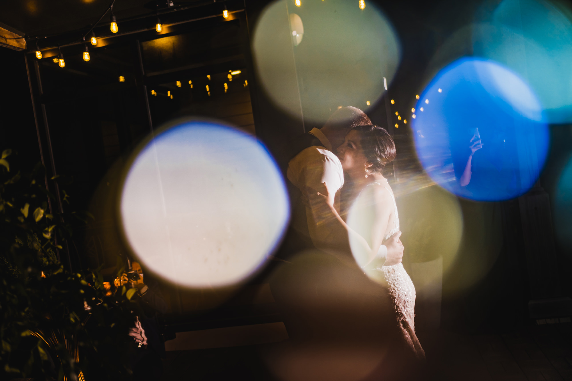 bride and grooms first dance - photo by Chrisman Studios, charleston, the restoration