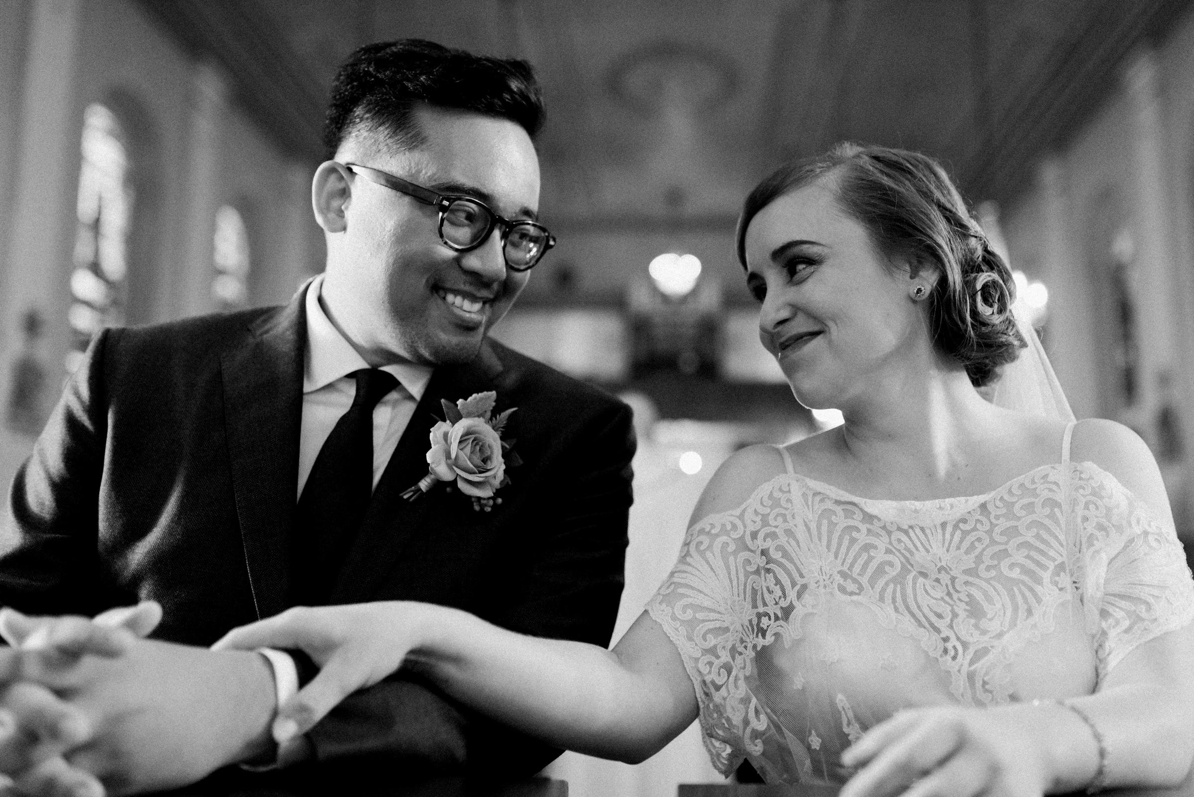 Smiling couple portrait - photo by Dark Roux