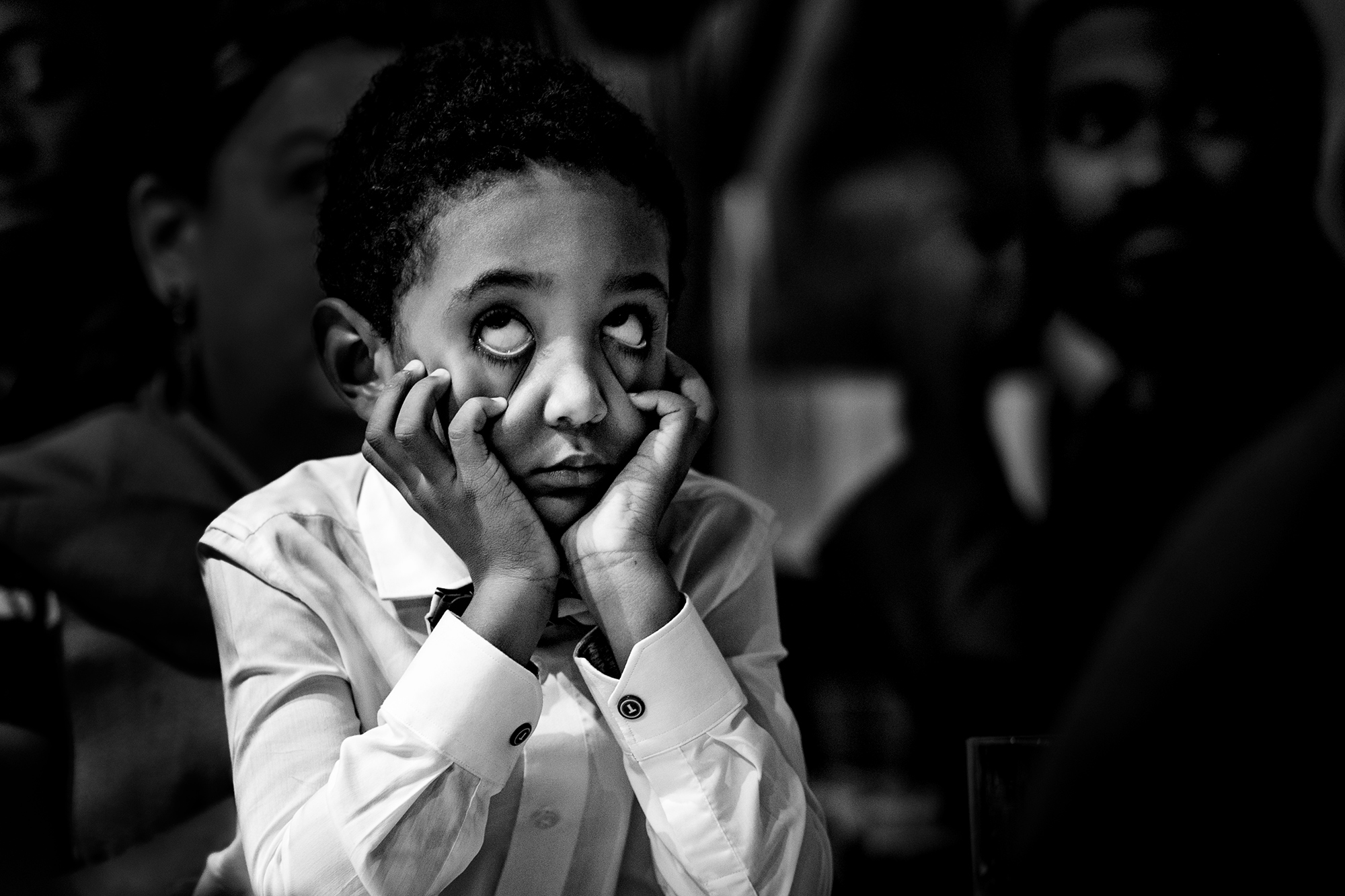 Child making a weird face - photo by Matei Horvath Photography