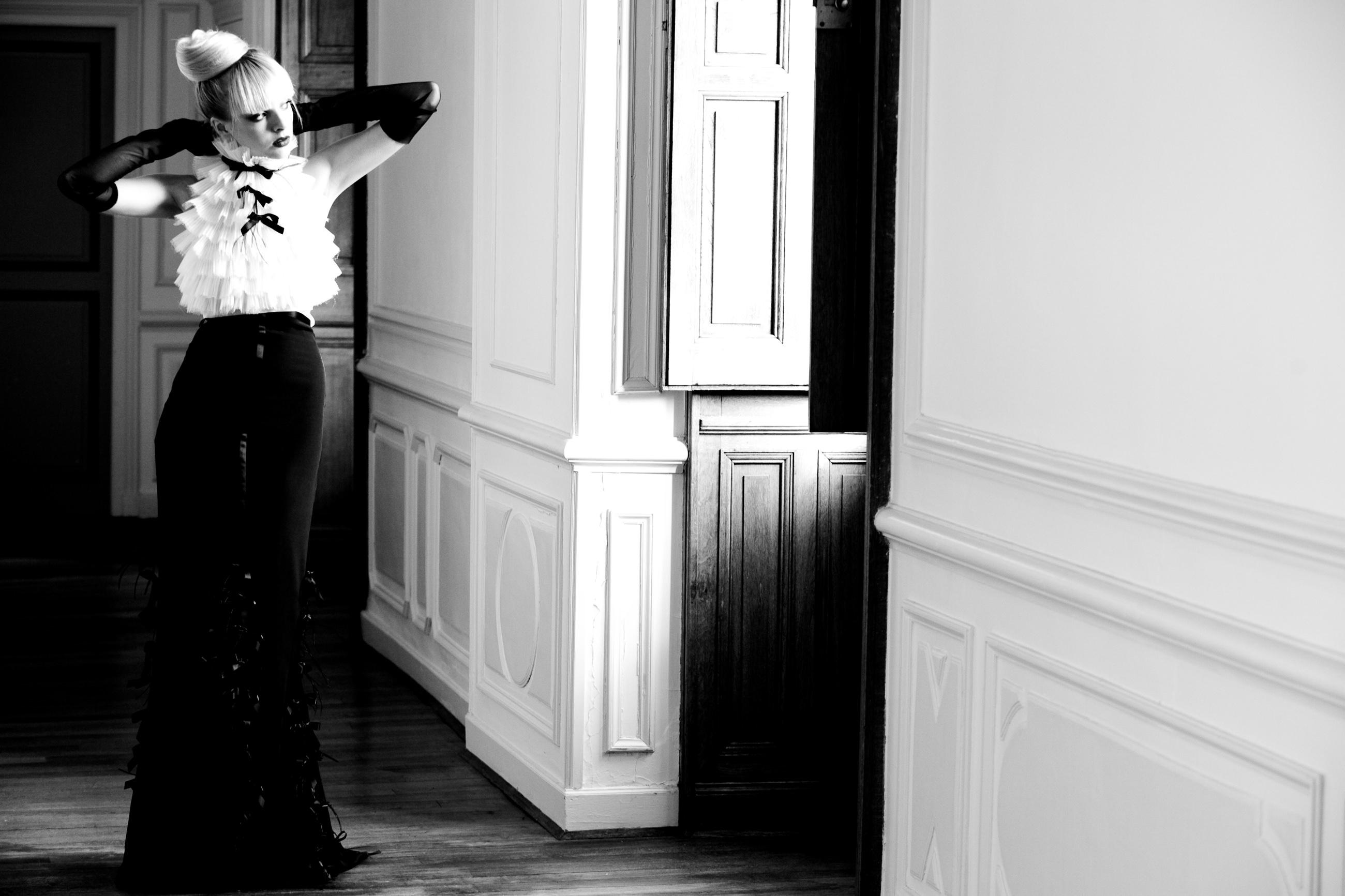 fashion bridal photo- photo by La Vie Photography, seattle
